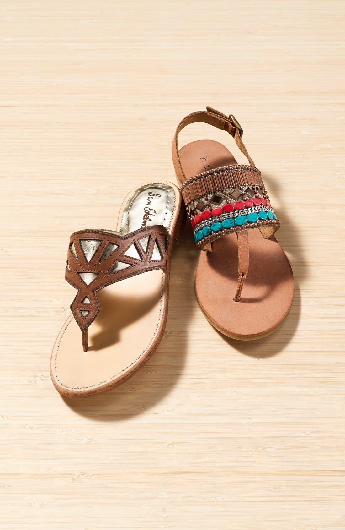 Alternate Image 5  - Hinge Beaded Thong Sandal (Women)