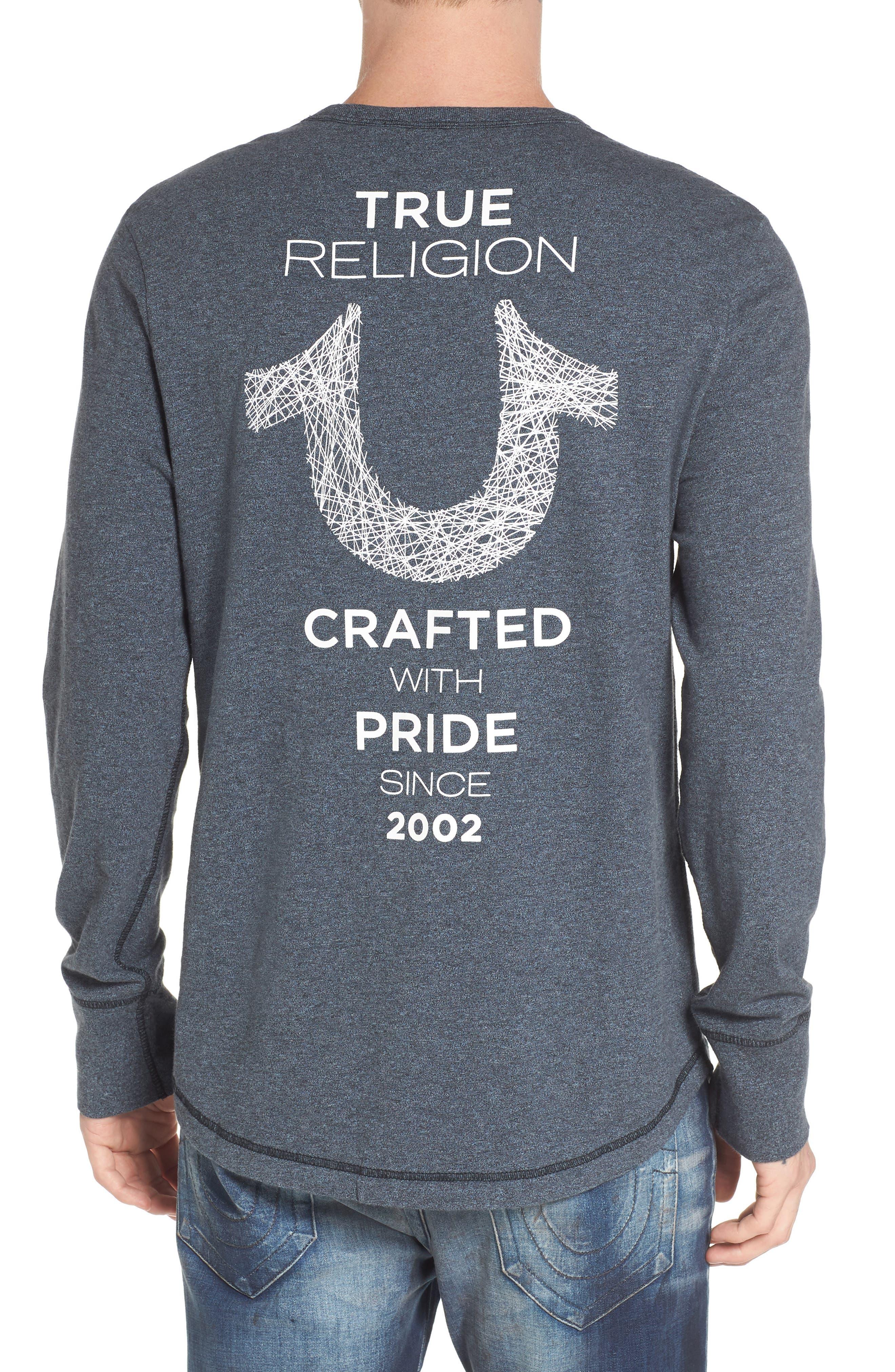 Logo Graphic T-Shirt,                             Alternate thumbnail 2, color,                             Navy