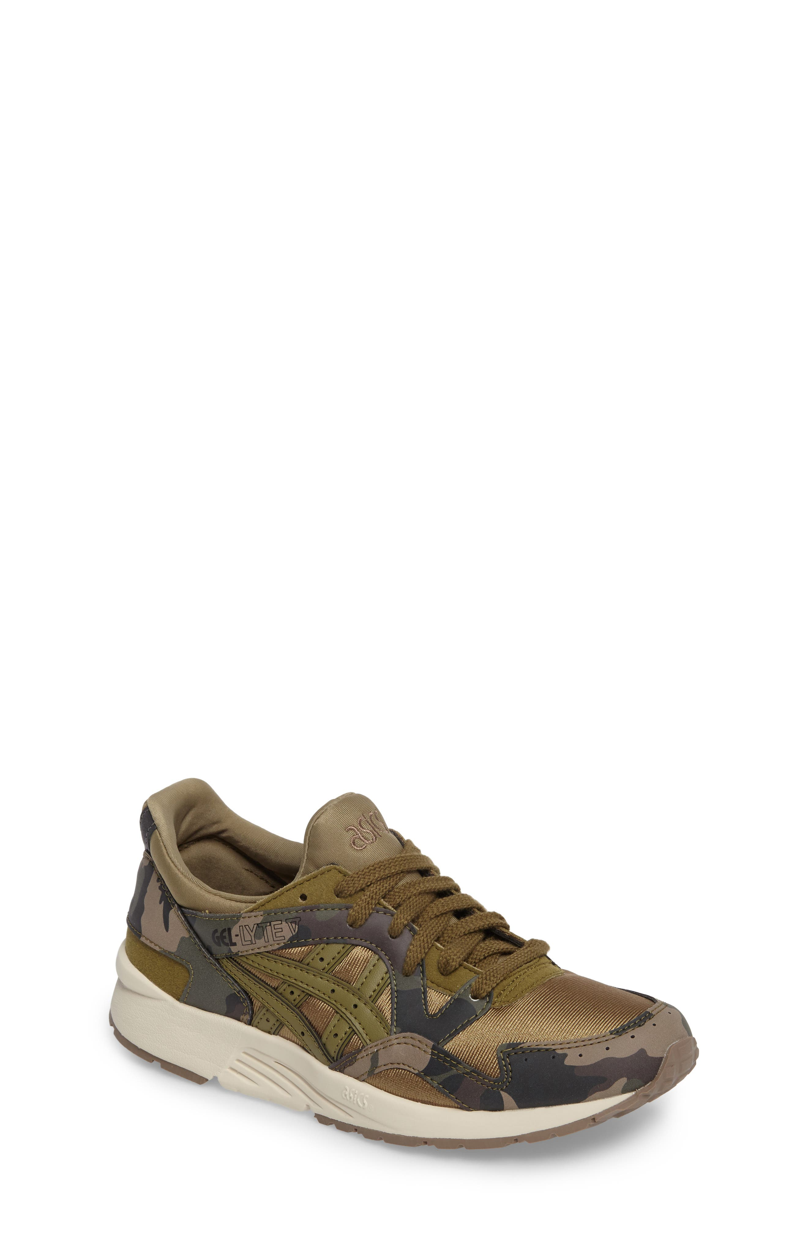 GEL-LYTE<sup>®</sup> V GS Sneaker,                             Main thumbnail 1, color,                             Martini Olive/ Martini Olive