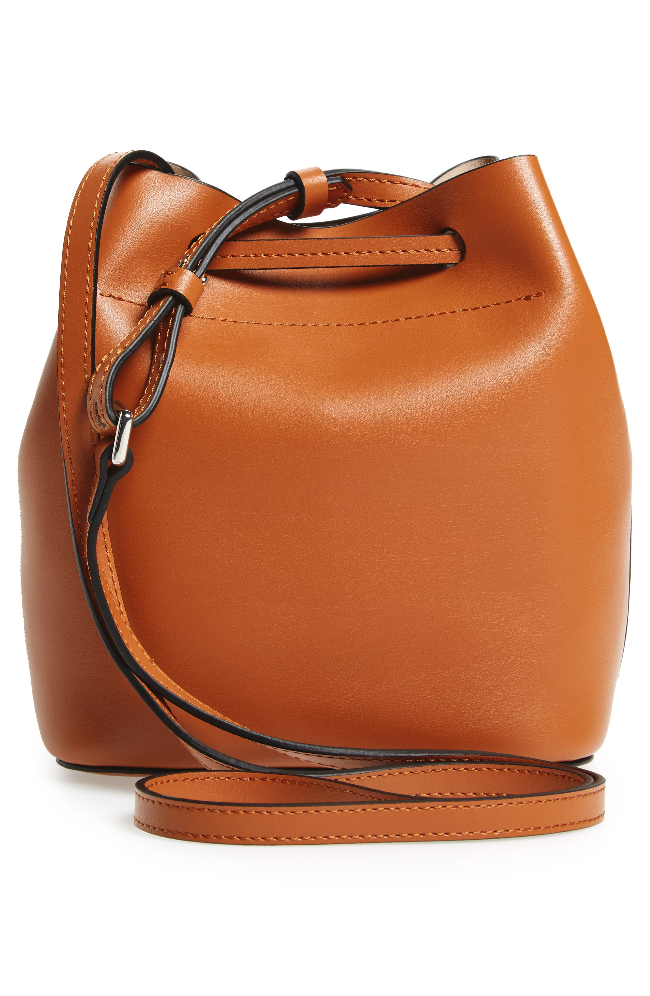 Alternate Image 3  - Lodis Small Silicon Valley Blake RFID Leather Bucket Bag