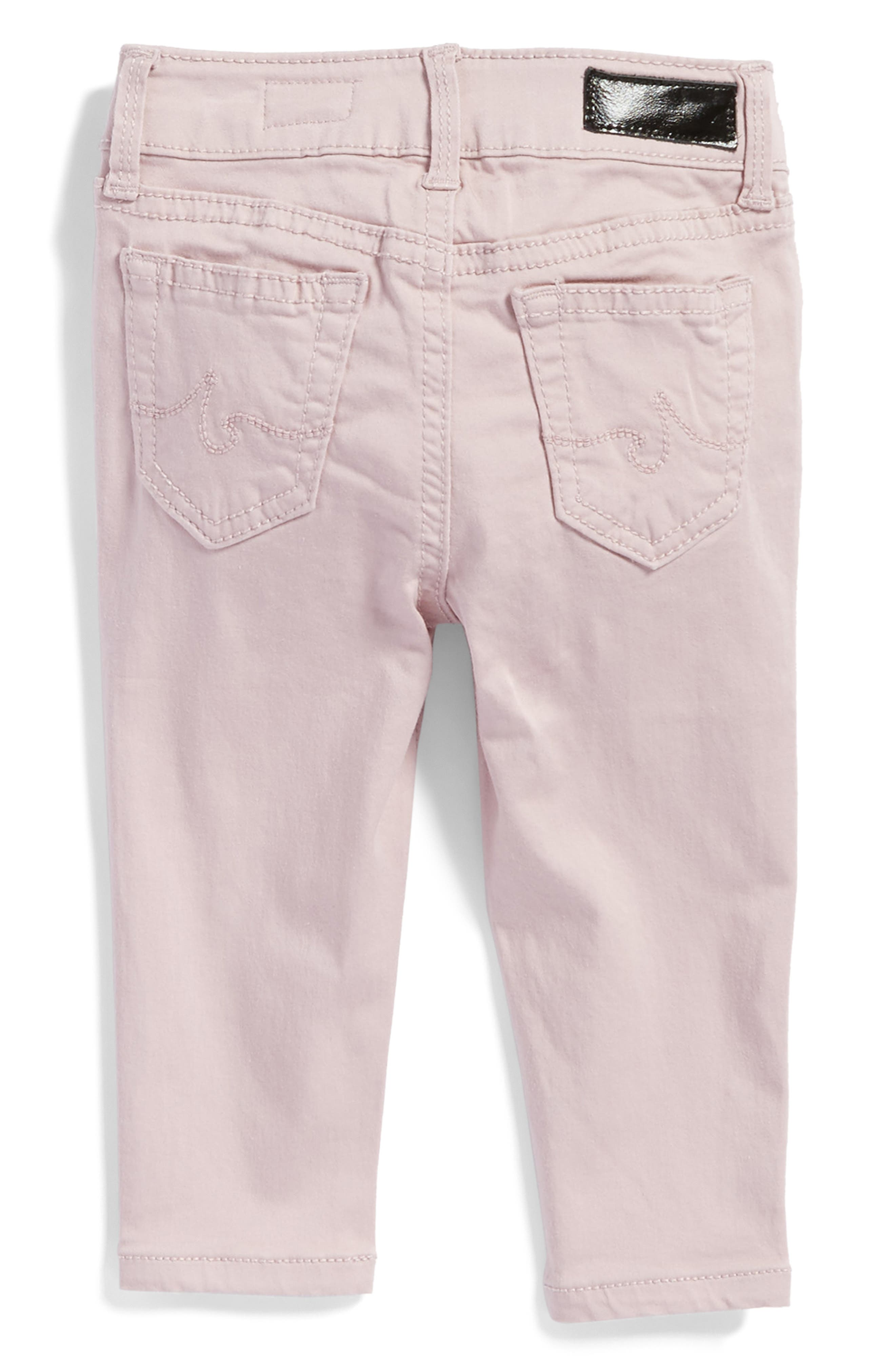Alternate Image 2  - ag adriano goldschmied kids Twiggy Ankle Skinny Jeans (Baby Girls)