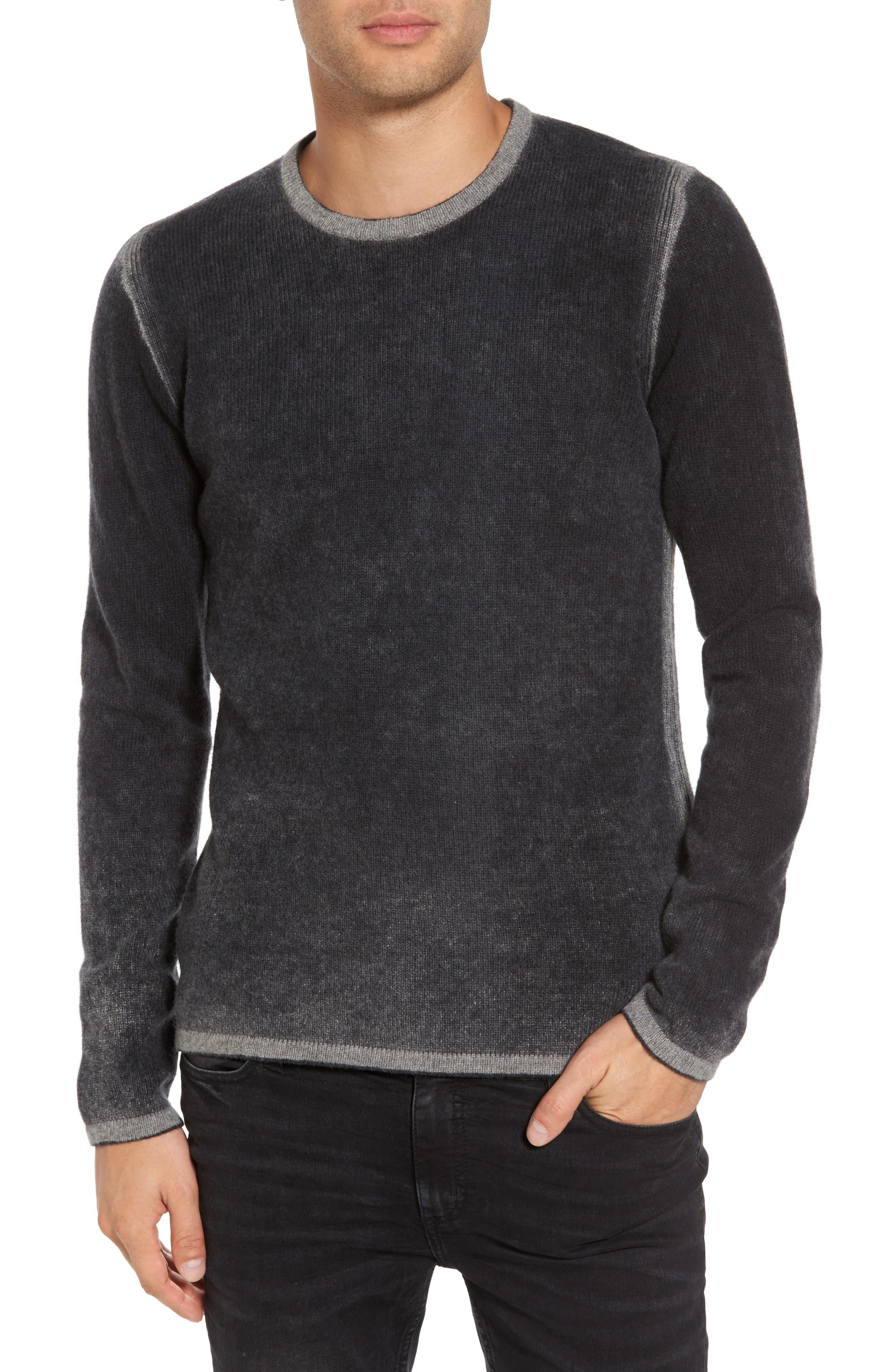 Drop Shoulder Sweater,                         Main,                         color, Charcoal Heather