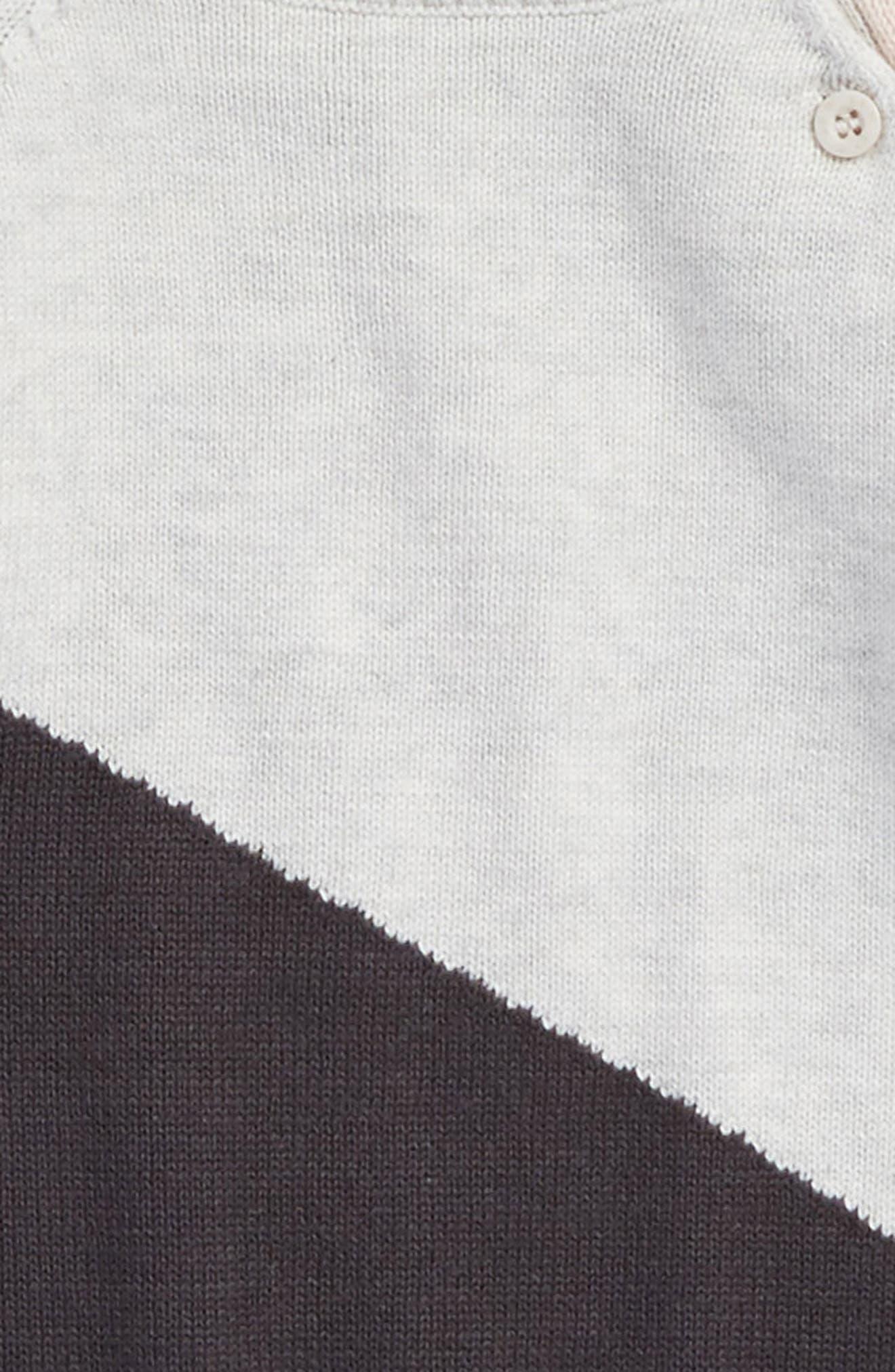 Alternate Image 2  - Miles Baby Knit Sweater Dress (Baby Girls)