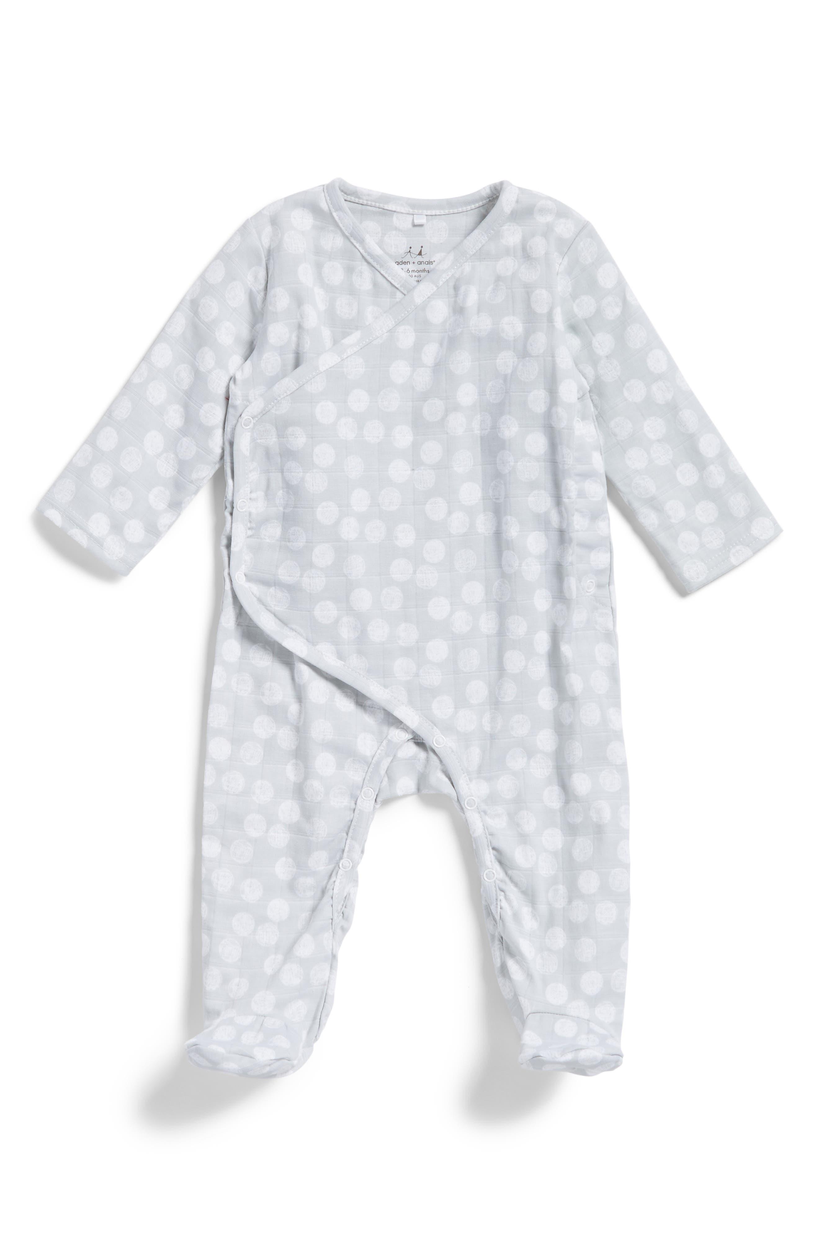 aden + anais Kimono One-Piece (Baby Boys)