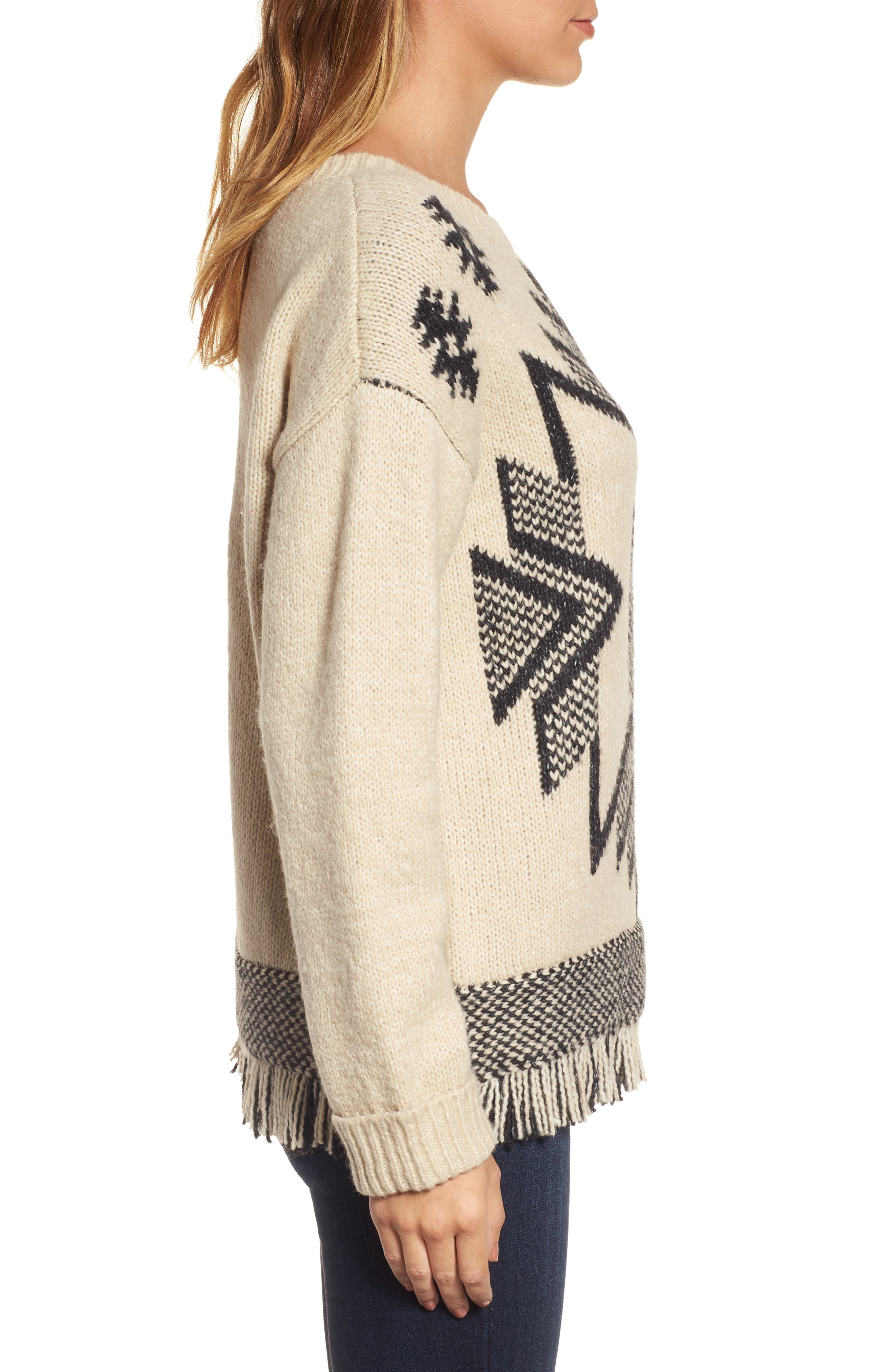 Alternate Image 3  - Press Fringe Sweater