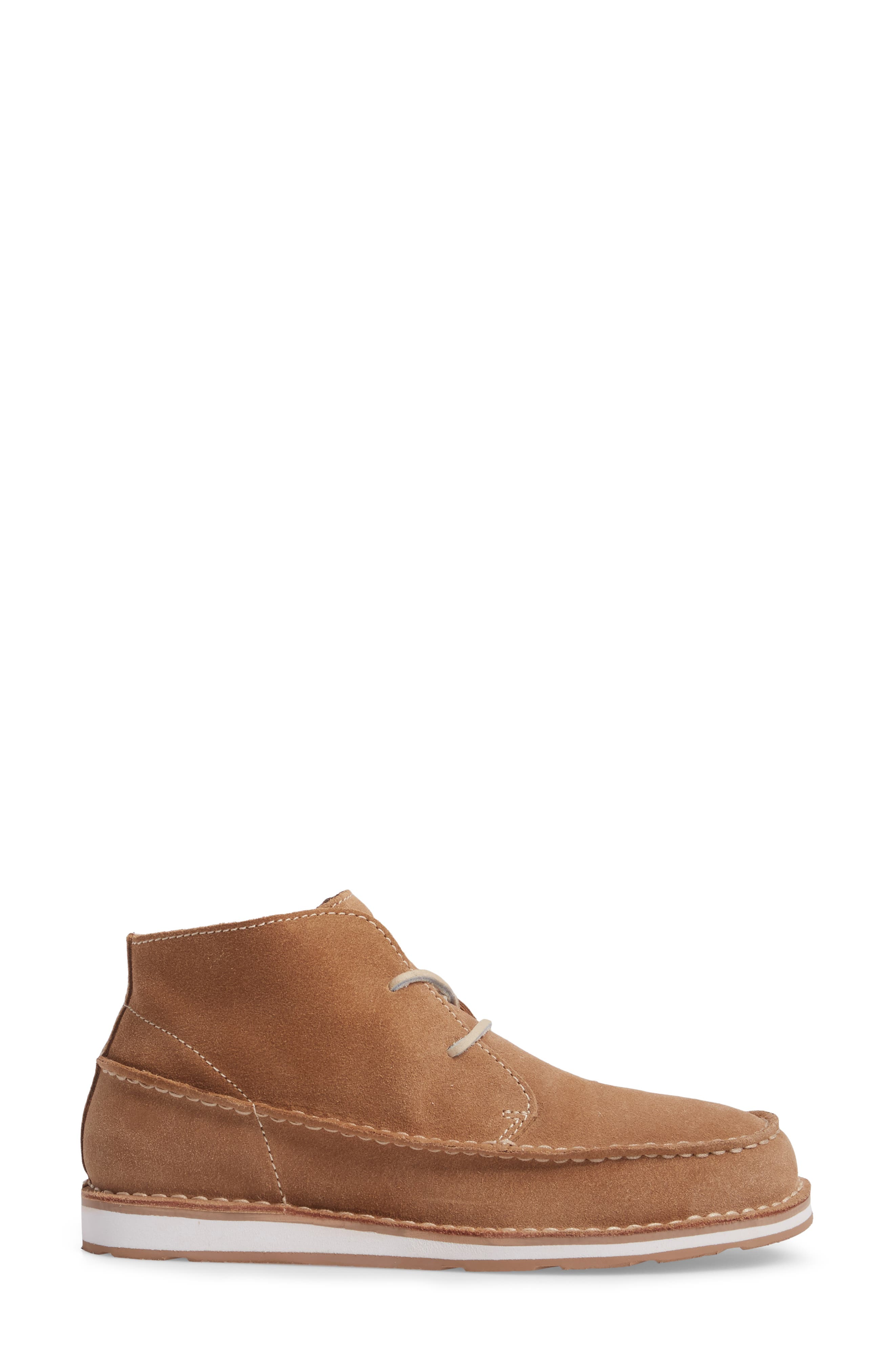 Cruiser Chukka Boot,                             Alternate thumbnail 3, color,                             Lace Dirty Taupe Suede