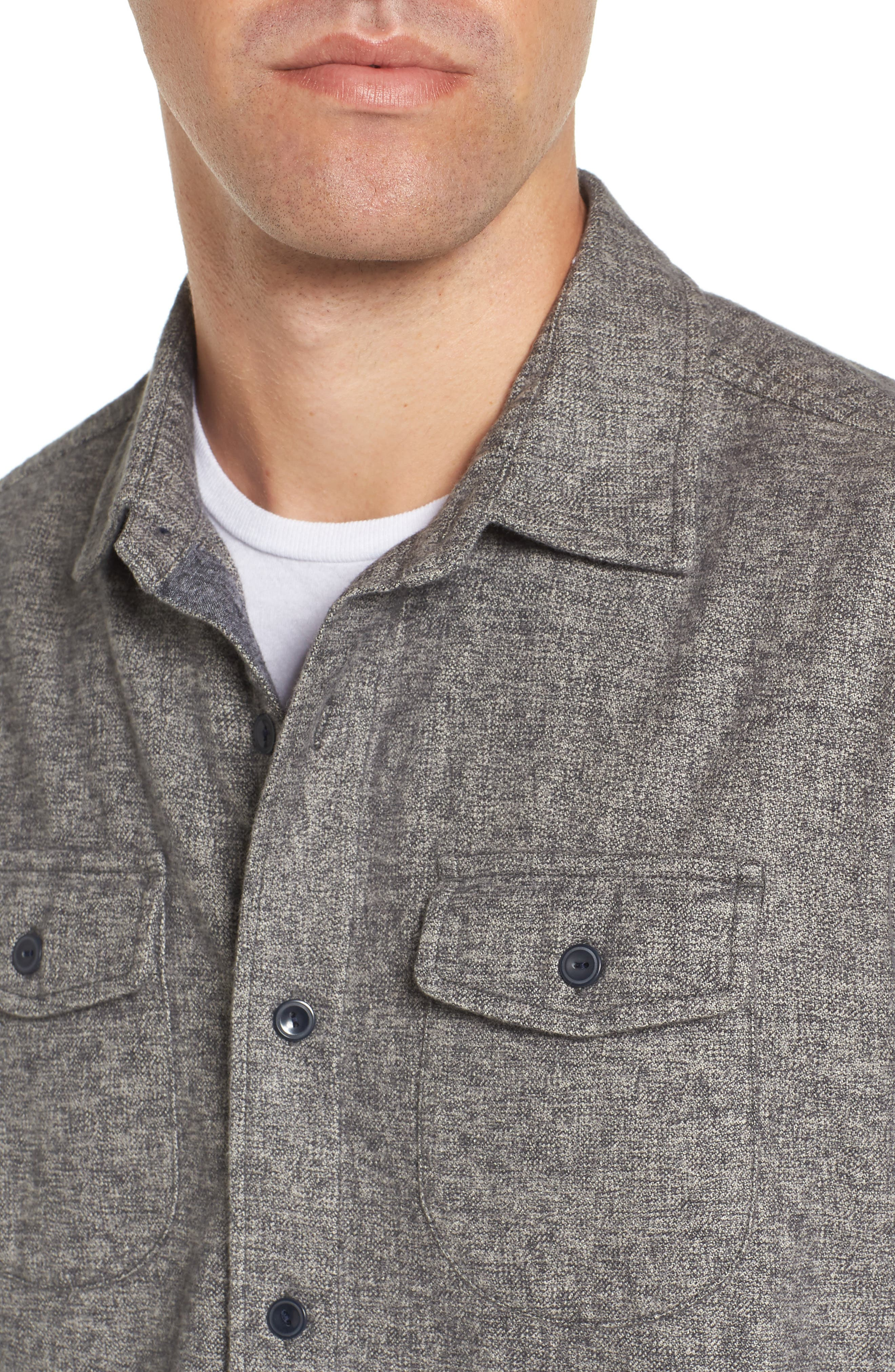 Alternate Image 4  - Grayers Harrison Heritage Flannel Shirt