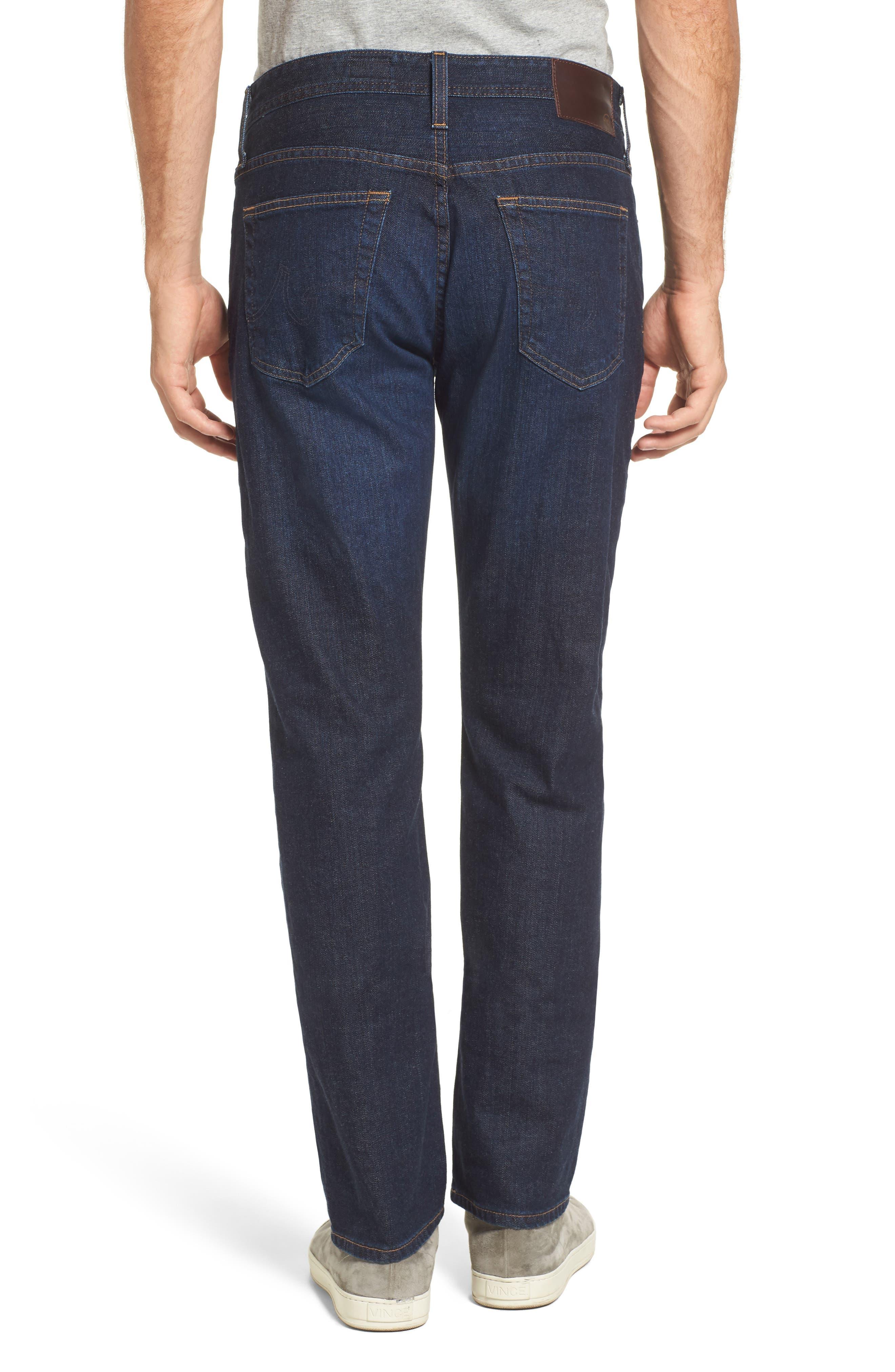 Alternate Image 2  - AG Everett Slim Straight Leg Jeans (Obscure)