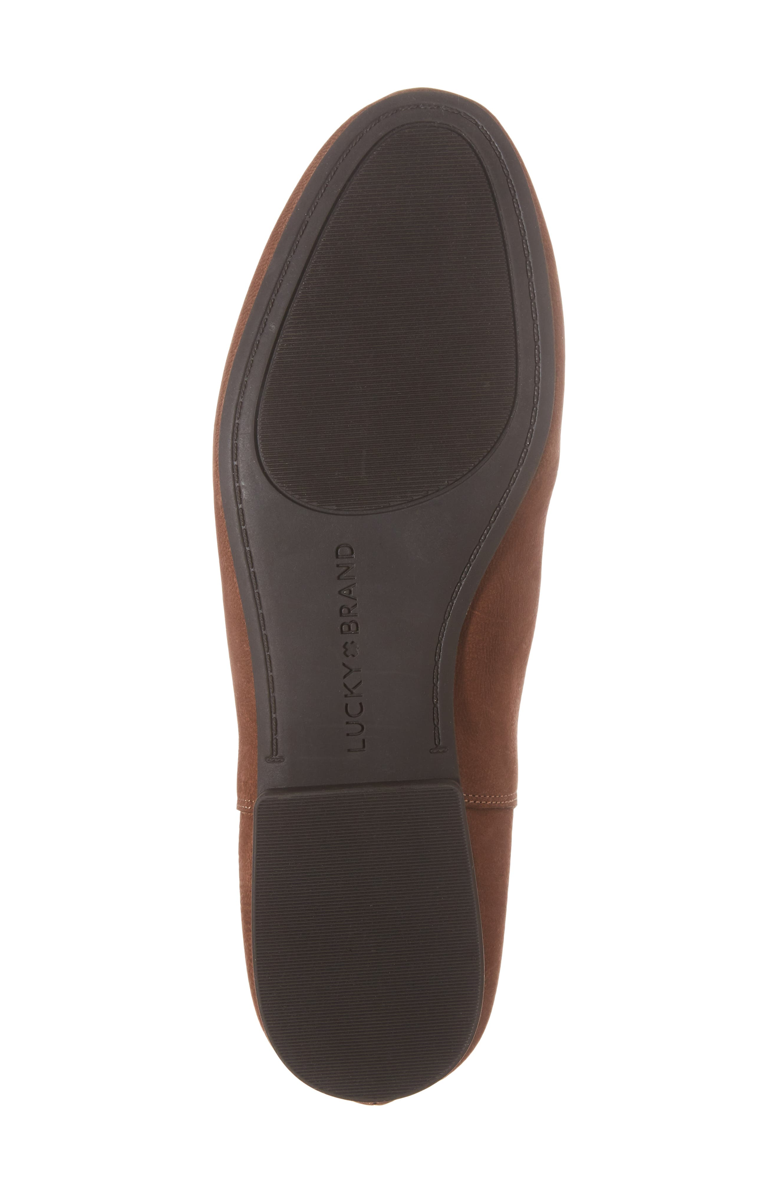 Gaines Bootie,                             Alternate thumbnail 6, color,                             Toffee Leather