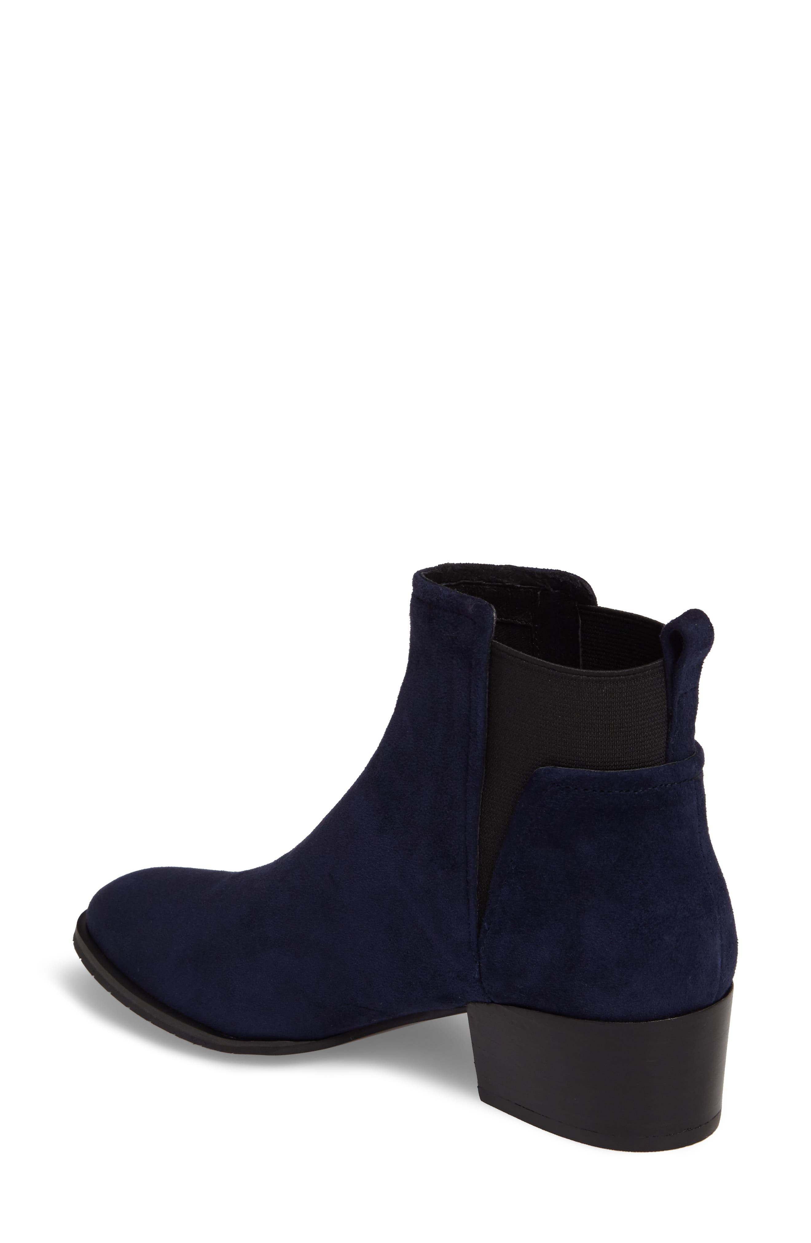 Artie Bootie,                             Alternate thumbnail 2, color,                             Navy Suede