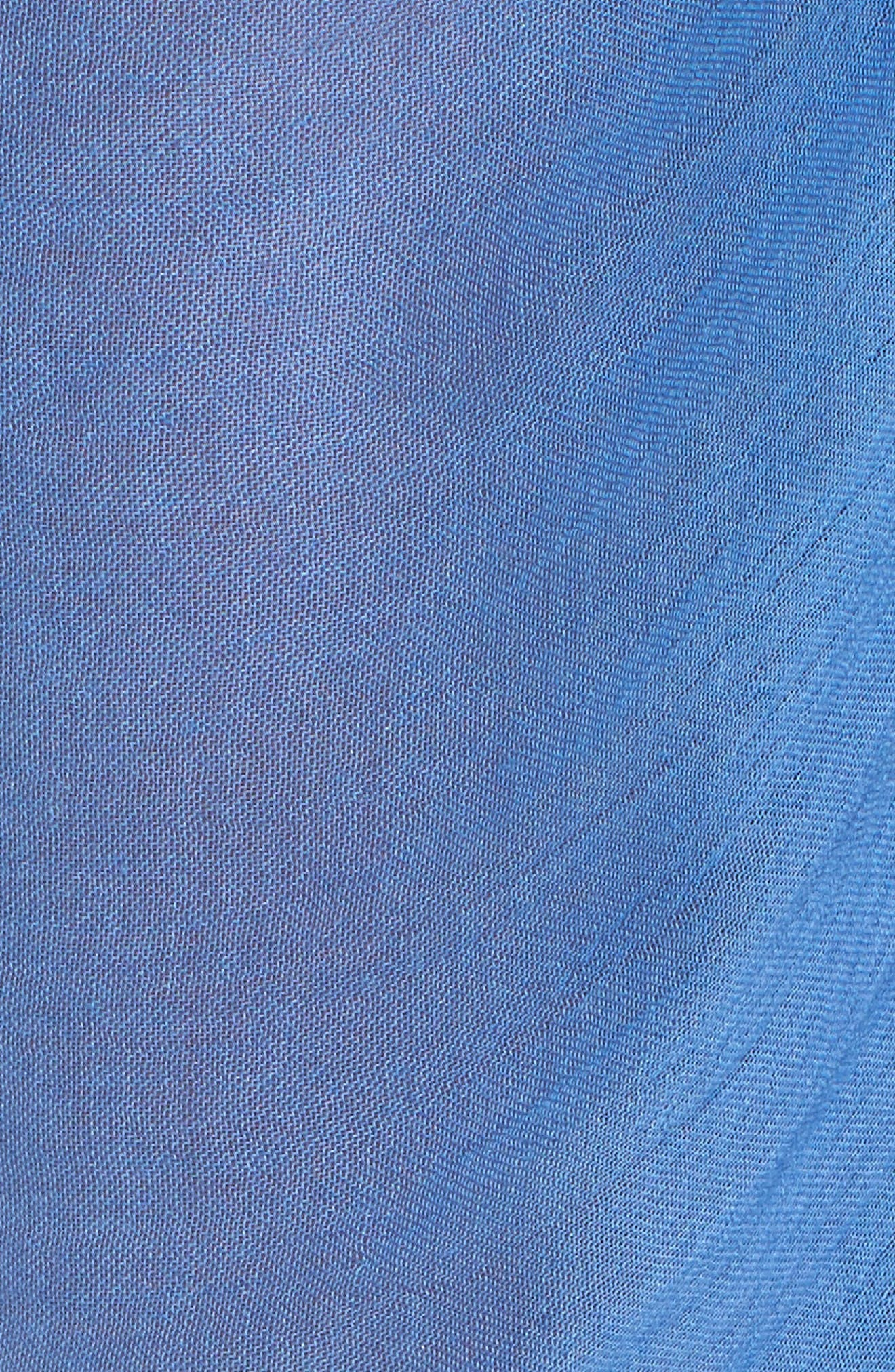 Pom Pom Pareo,                             Alternate thumbnail 4, color,                             Coastal Blue
