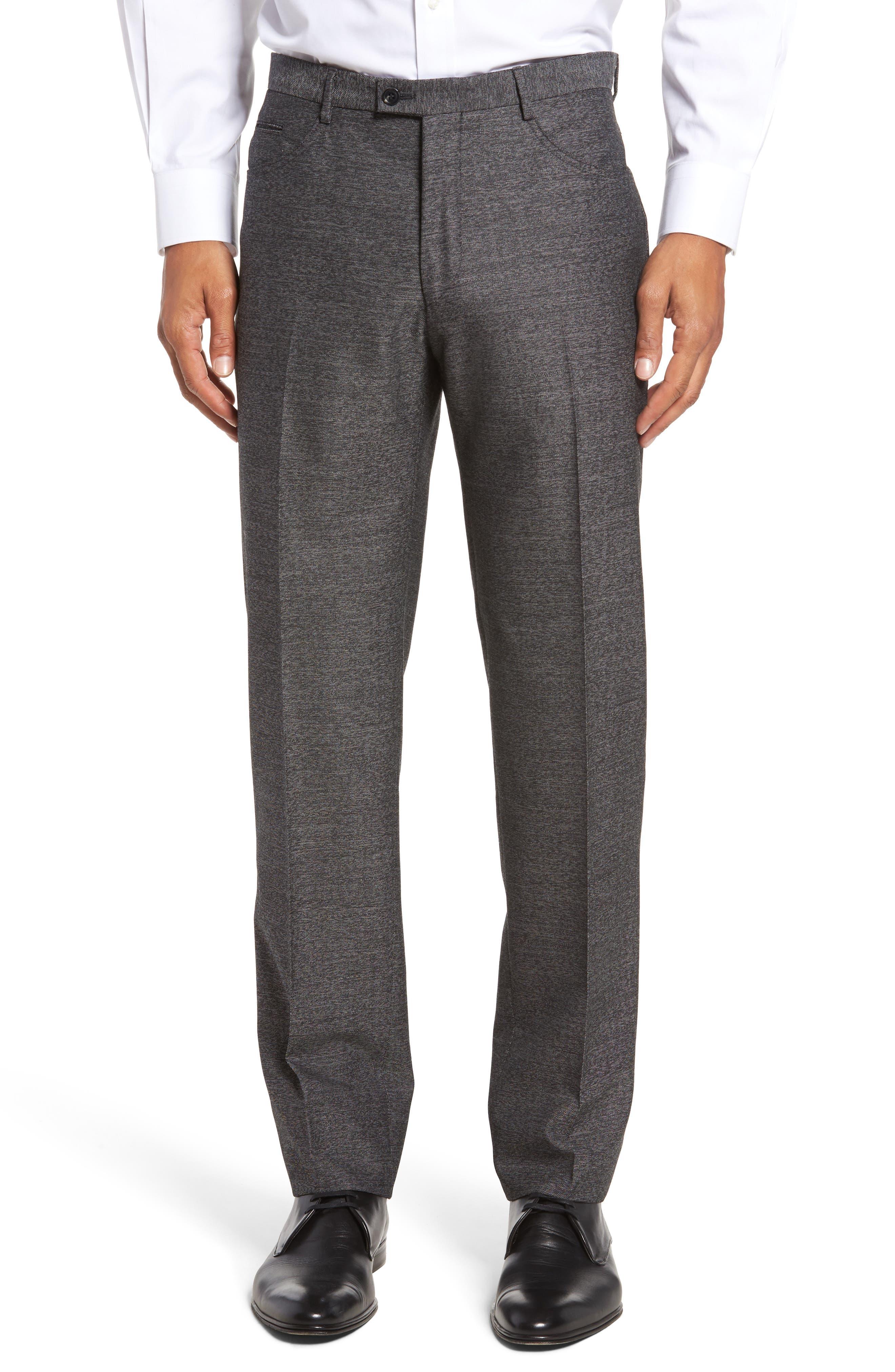Sartorial Wool Five-Pocket Pants,                             Main thumbnail 1, color,                             Grey