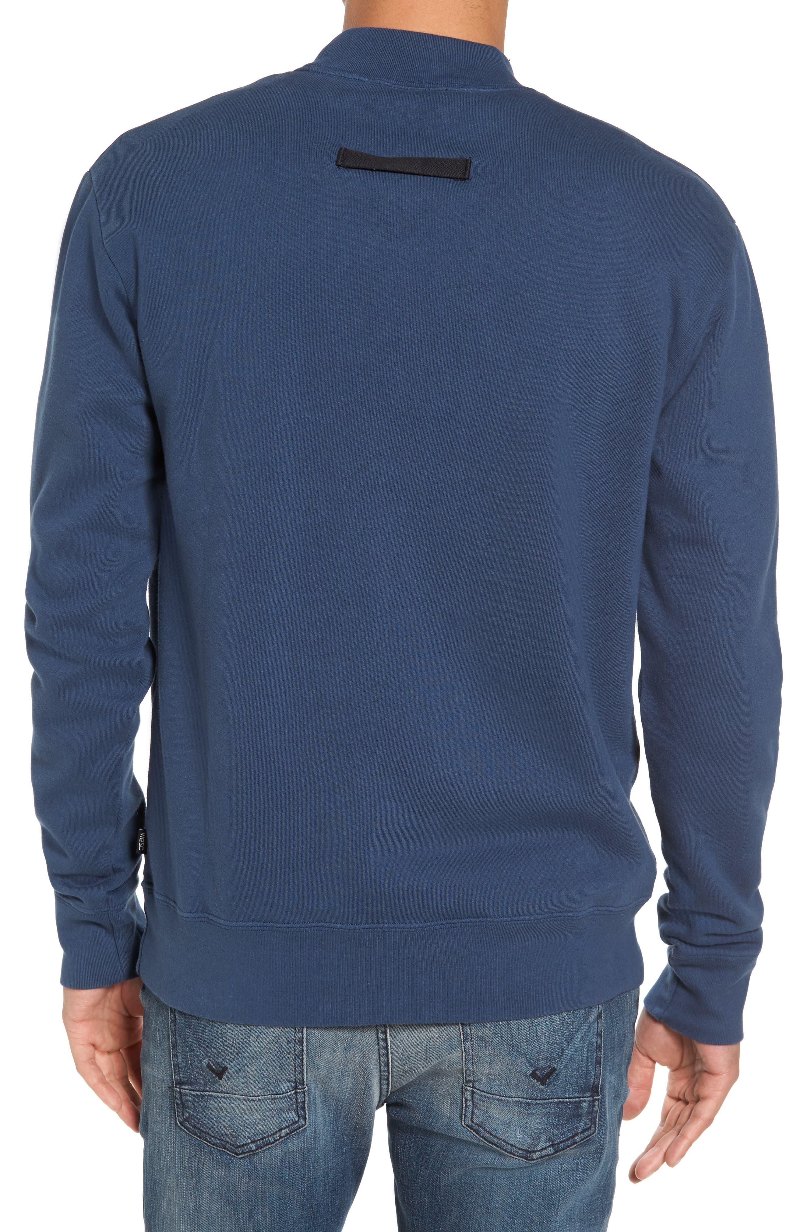 Alternate Image 2  - WeSC Steve Fleece Sweatshirt