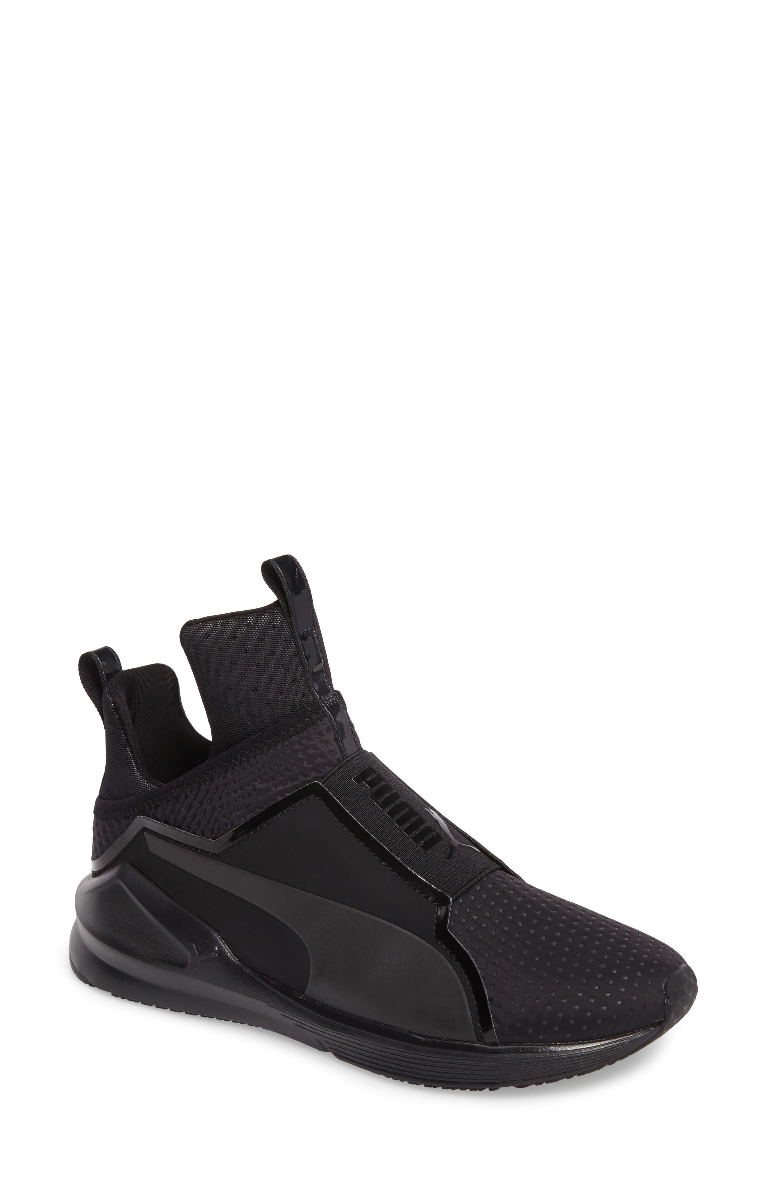Alternate Image 1 Selected - PUMA 'Fierce Core' High Top Sneaker (Women)