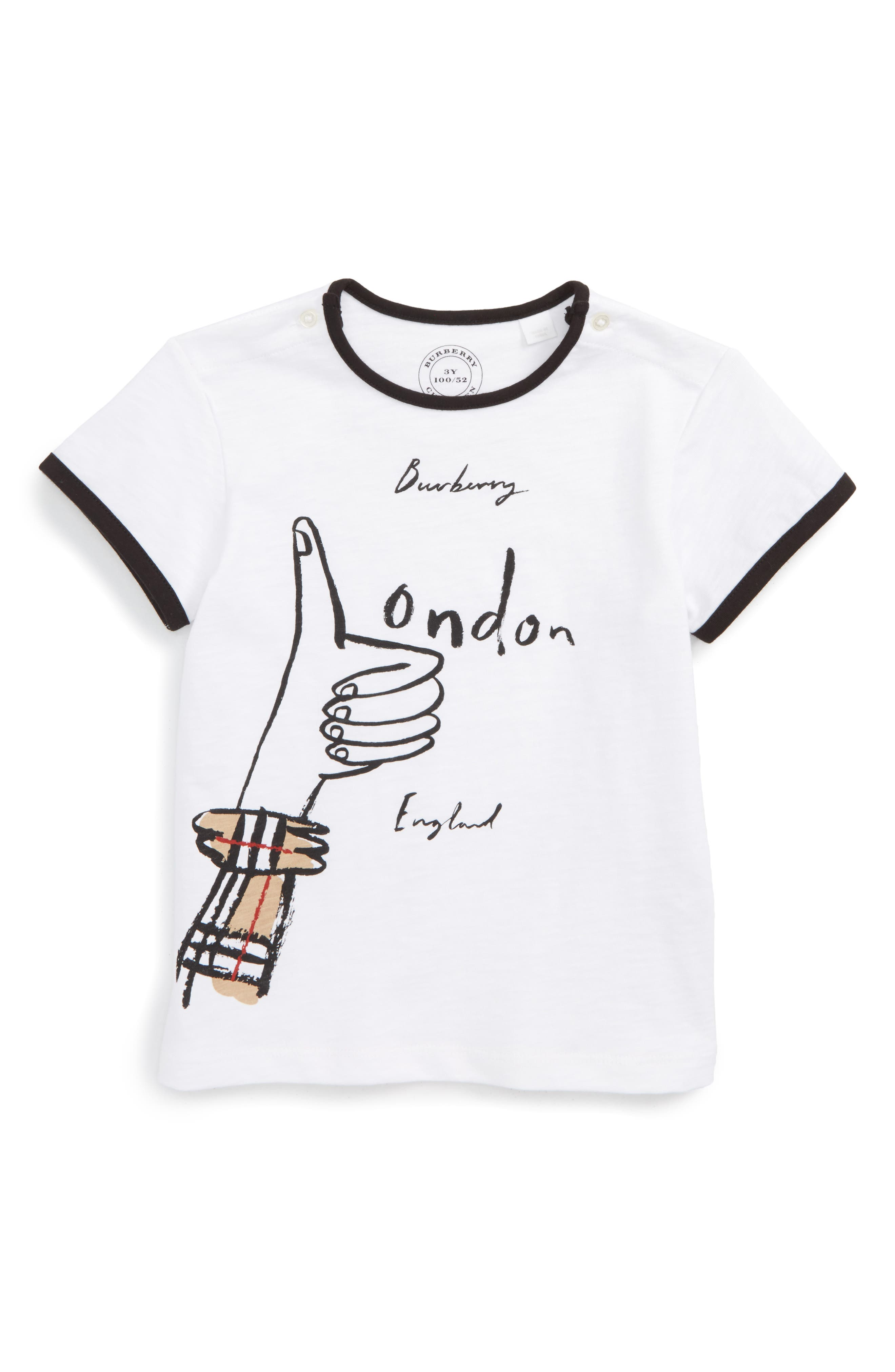 Burberry Mini Gregory Graphic T-Shirt (Toddler Boys)