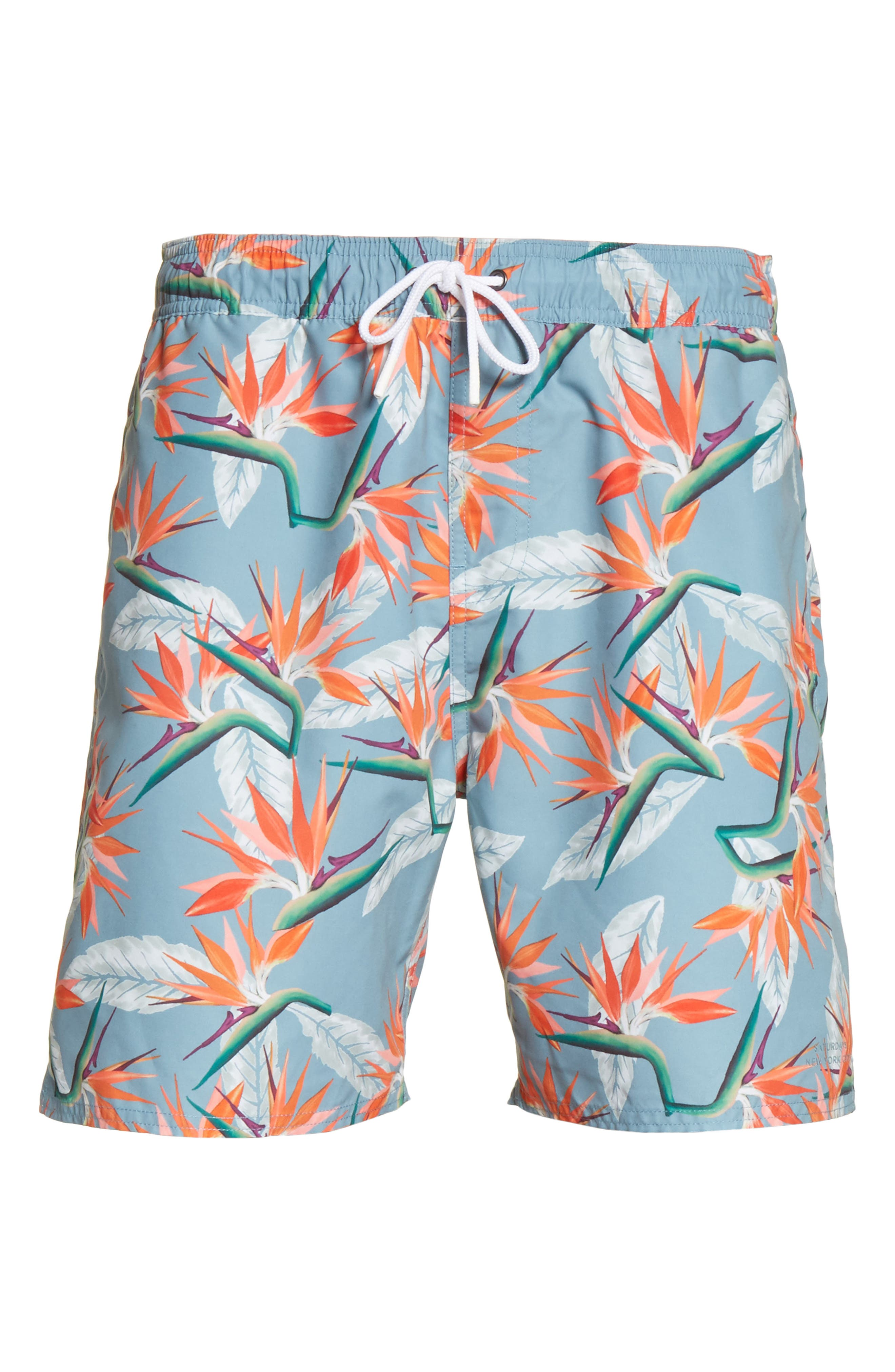 Alternate Image 6  - Saturdays NYC Timothy Paradise Swim Shorts