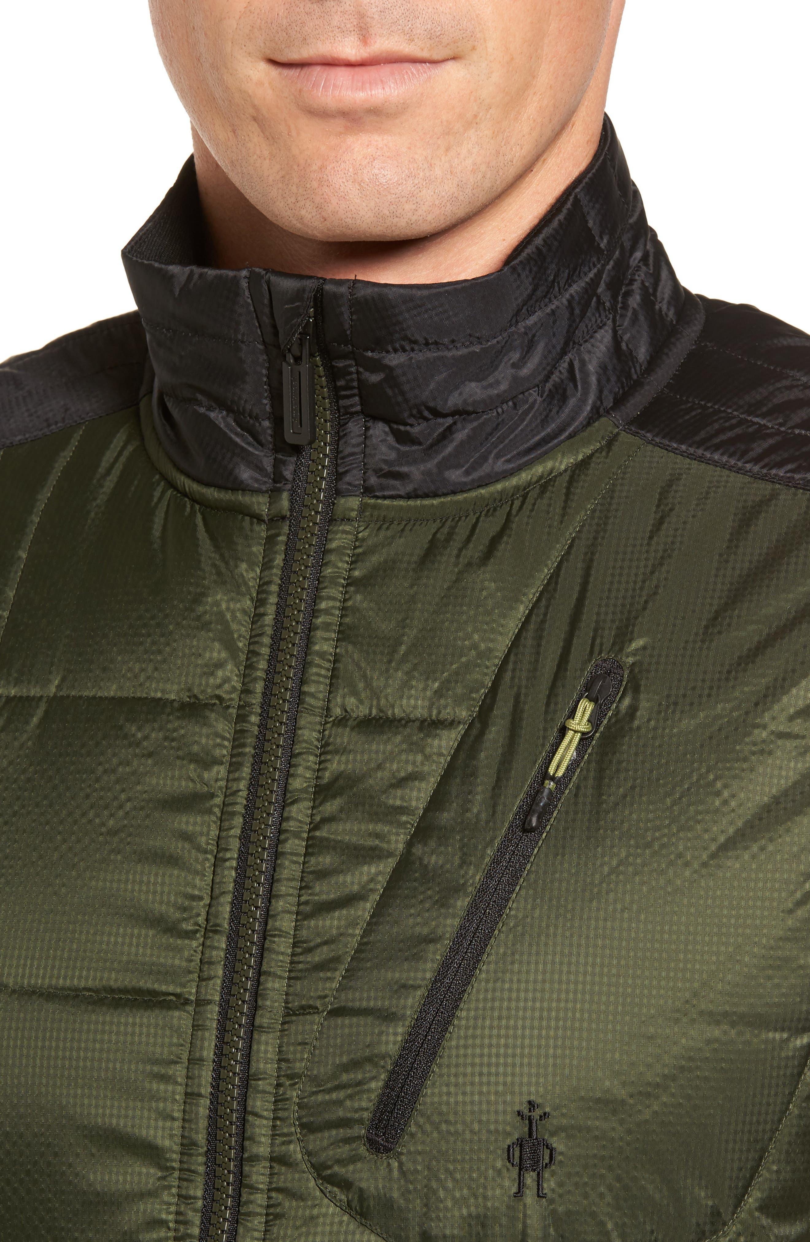Alternate Image 4  - Smartwool 'Corbet 120' Quilted Zip Front Vest