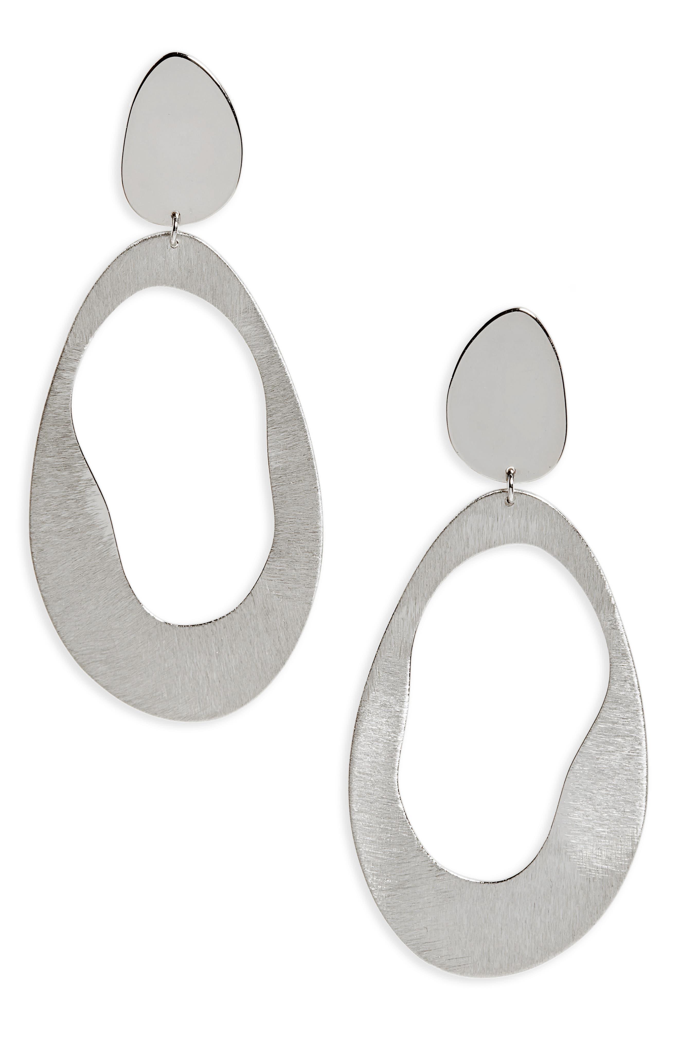 Argento Vivo Modern Drop Earrings