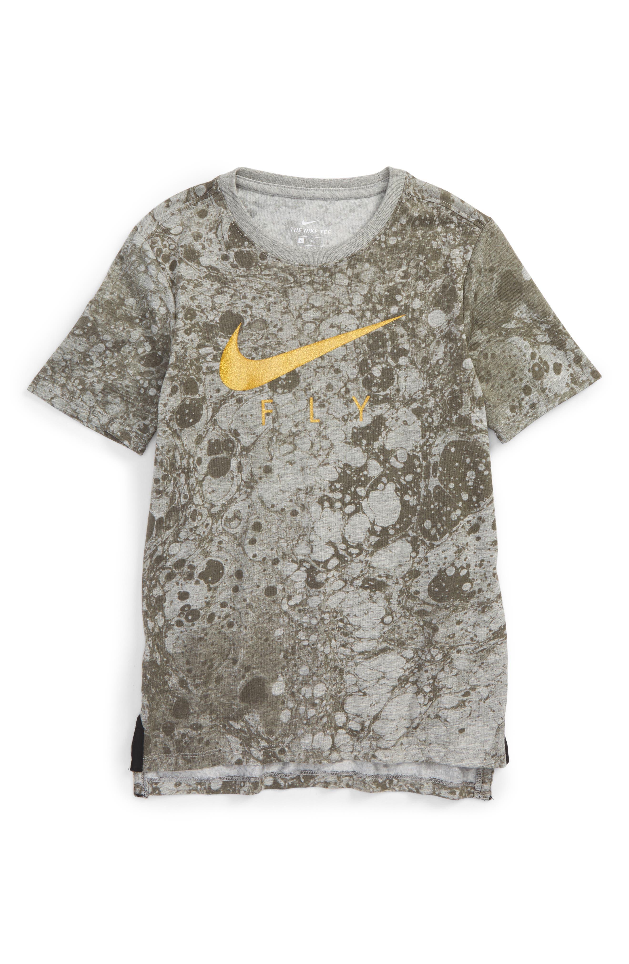 Main Image - Nike Dry LunarFly Droptail T-Shirt (Little Boys & Big Boys)