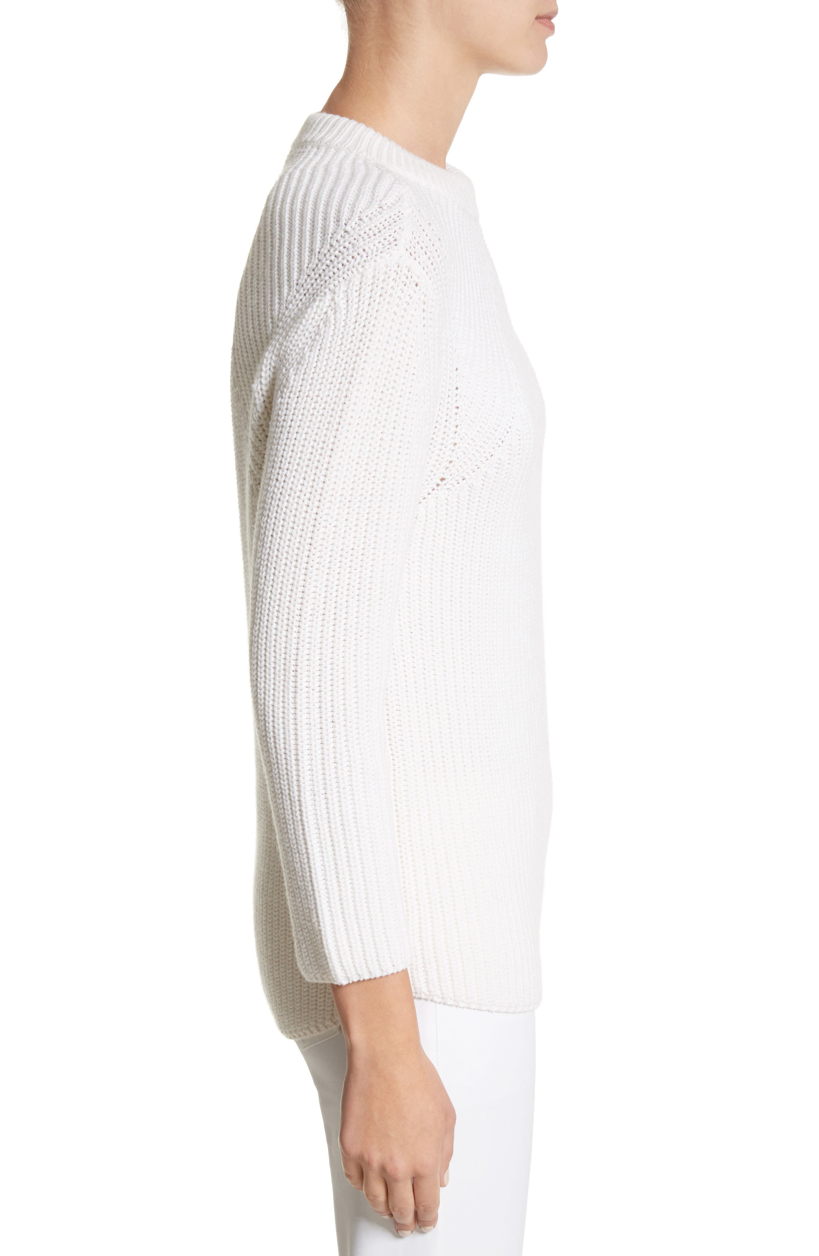 Alternate Image 3  - Michael Kors Merino Wool & Cotton Pullover