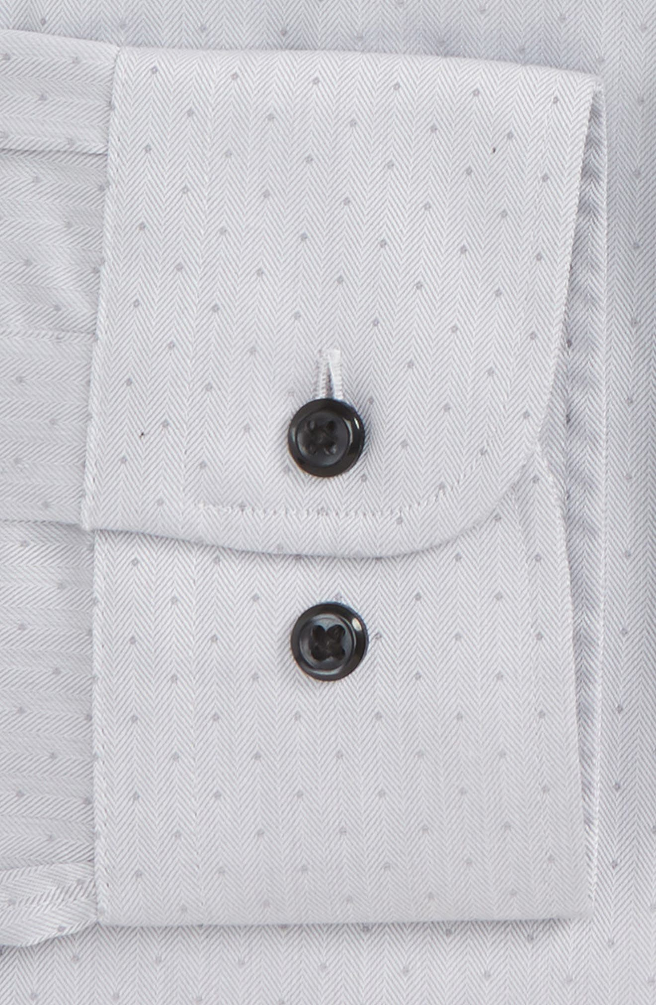 Alternate Image 5  - Nordstrom Men's Shop Traditional Fit Non-Iron Dress Shirt