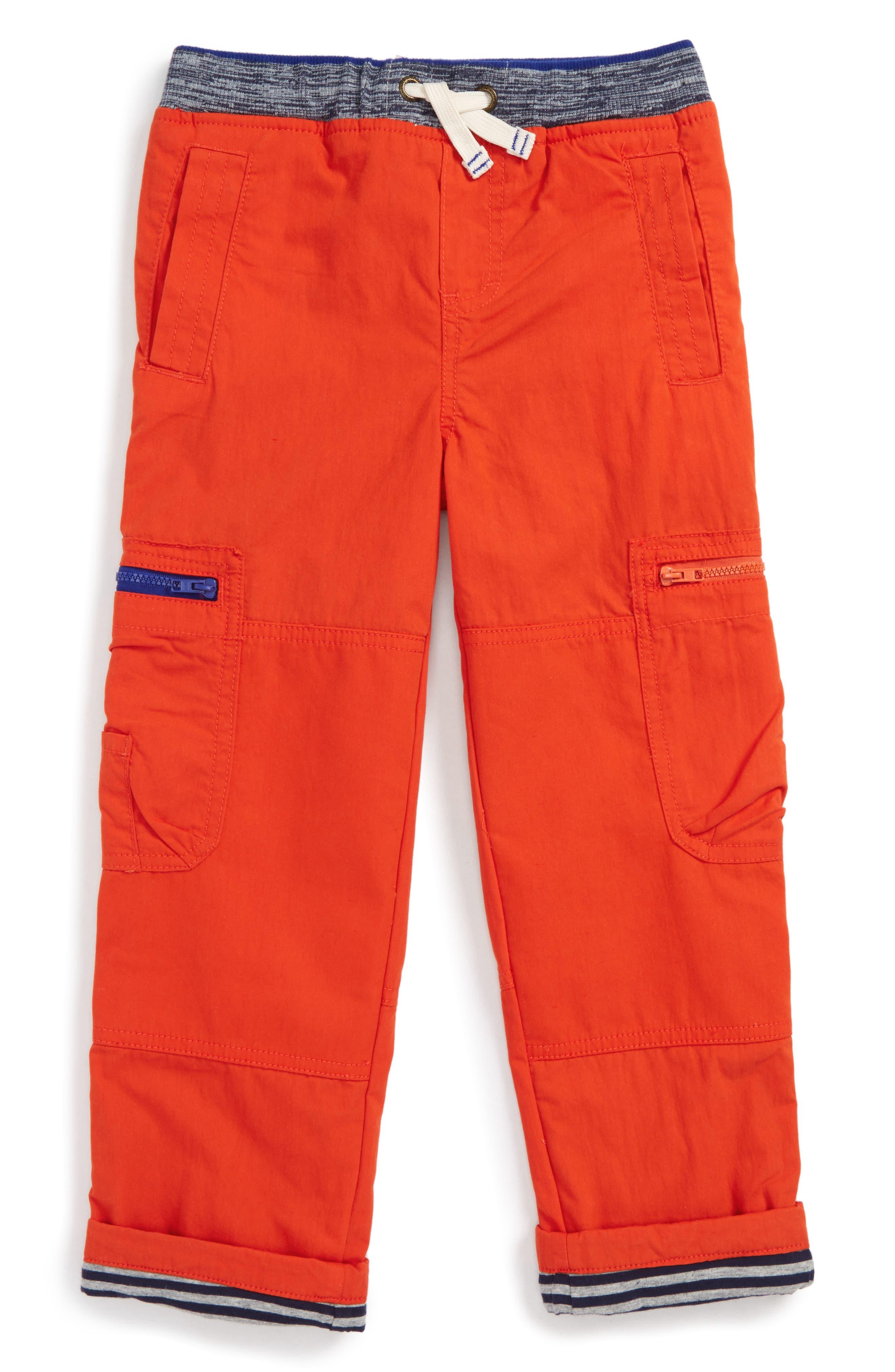 Mini Boden Lined Cargo Pants (Toddler Boys, Little Boys & Big Boys)