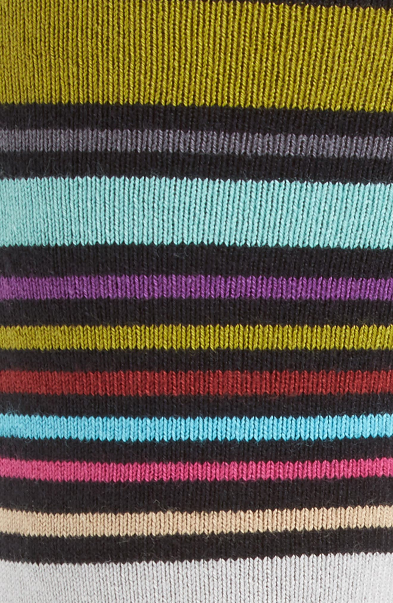 Alternate Image 2  - Paul Smith Wolfie Stripe Socks
