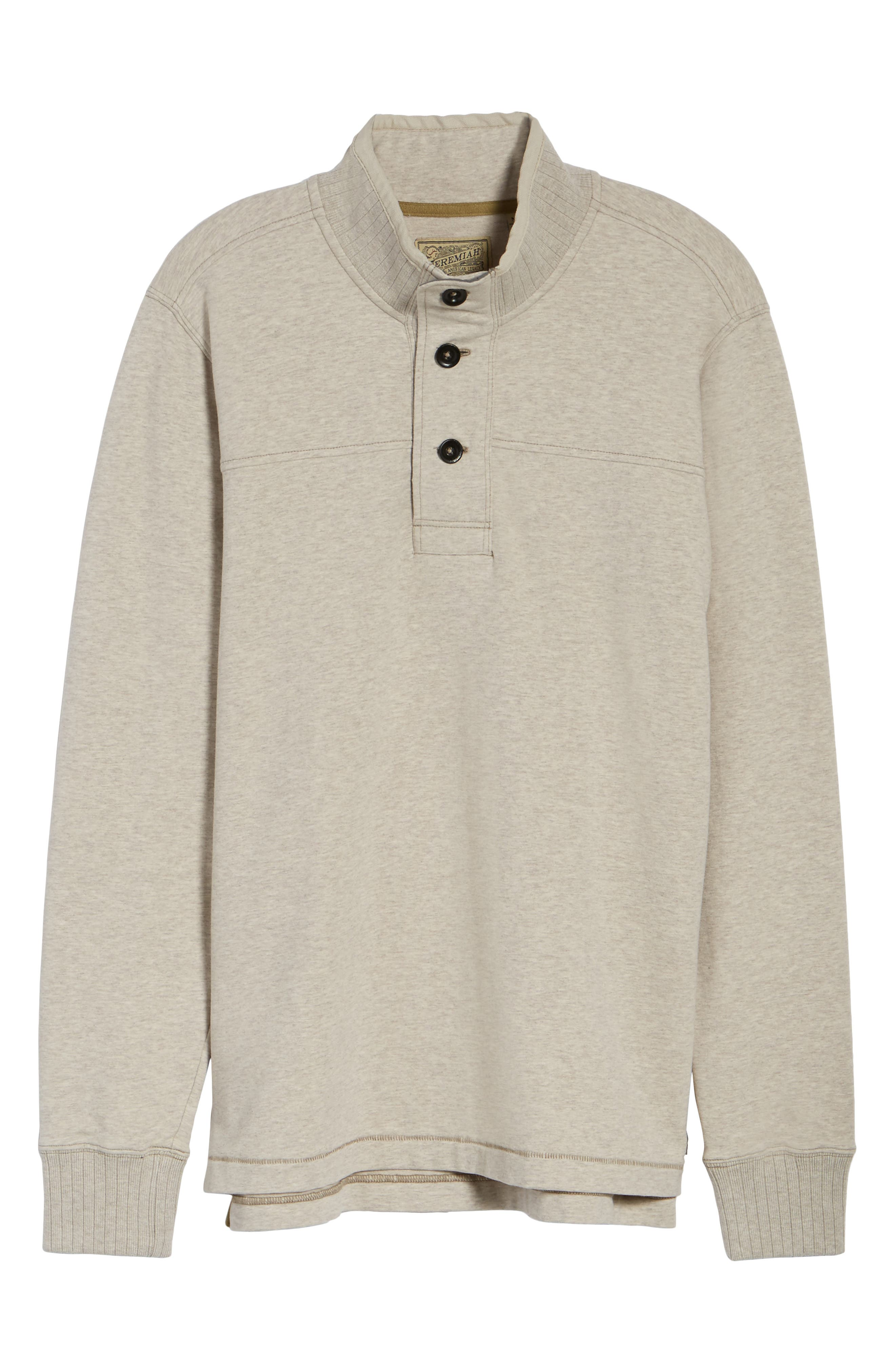 Alternate Image 6  - Jeremiah Taylor Quarter Button Pullover