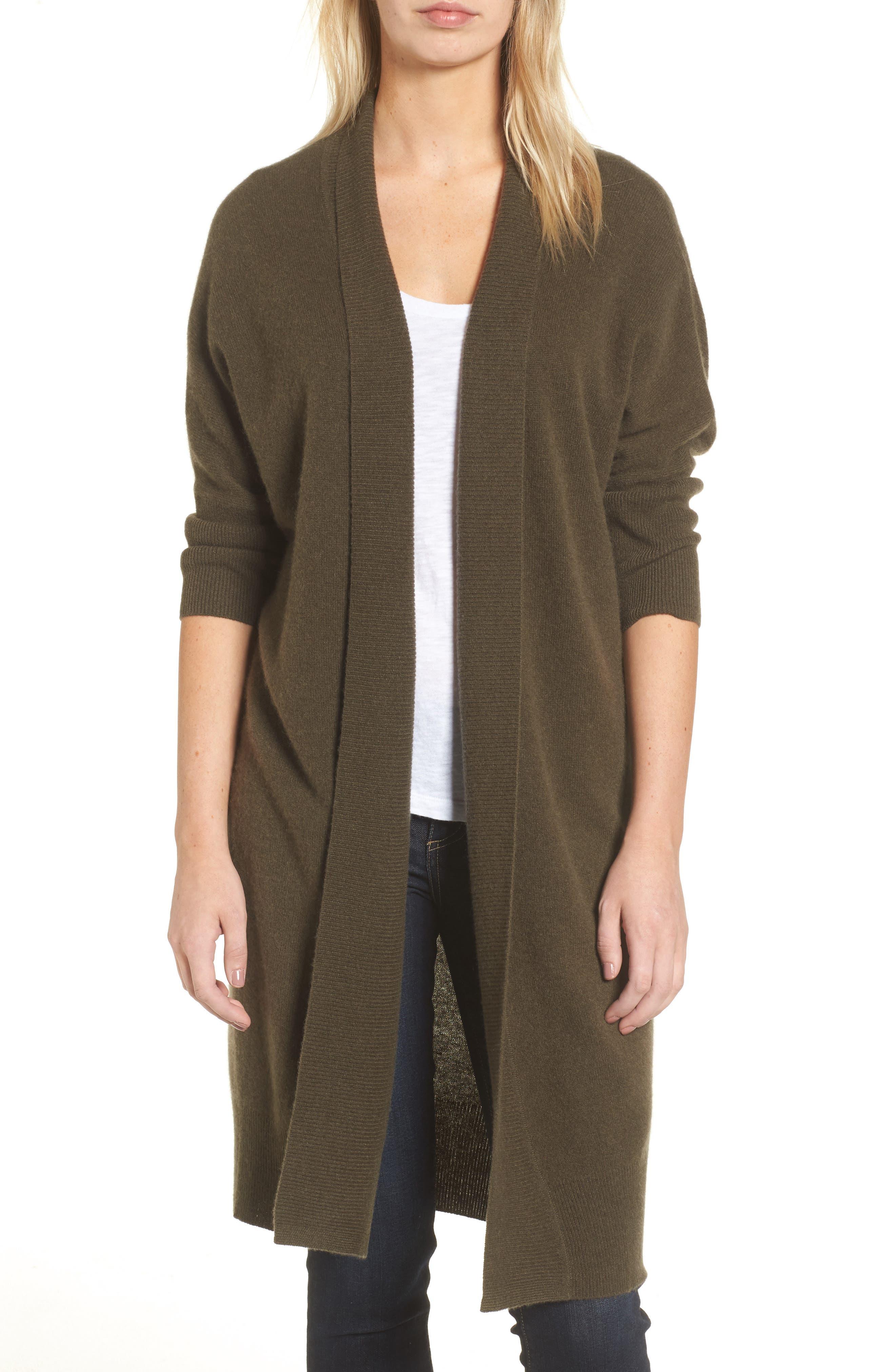 Halogen® Essential Cashmere Cardigan