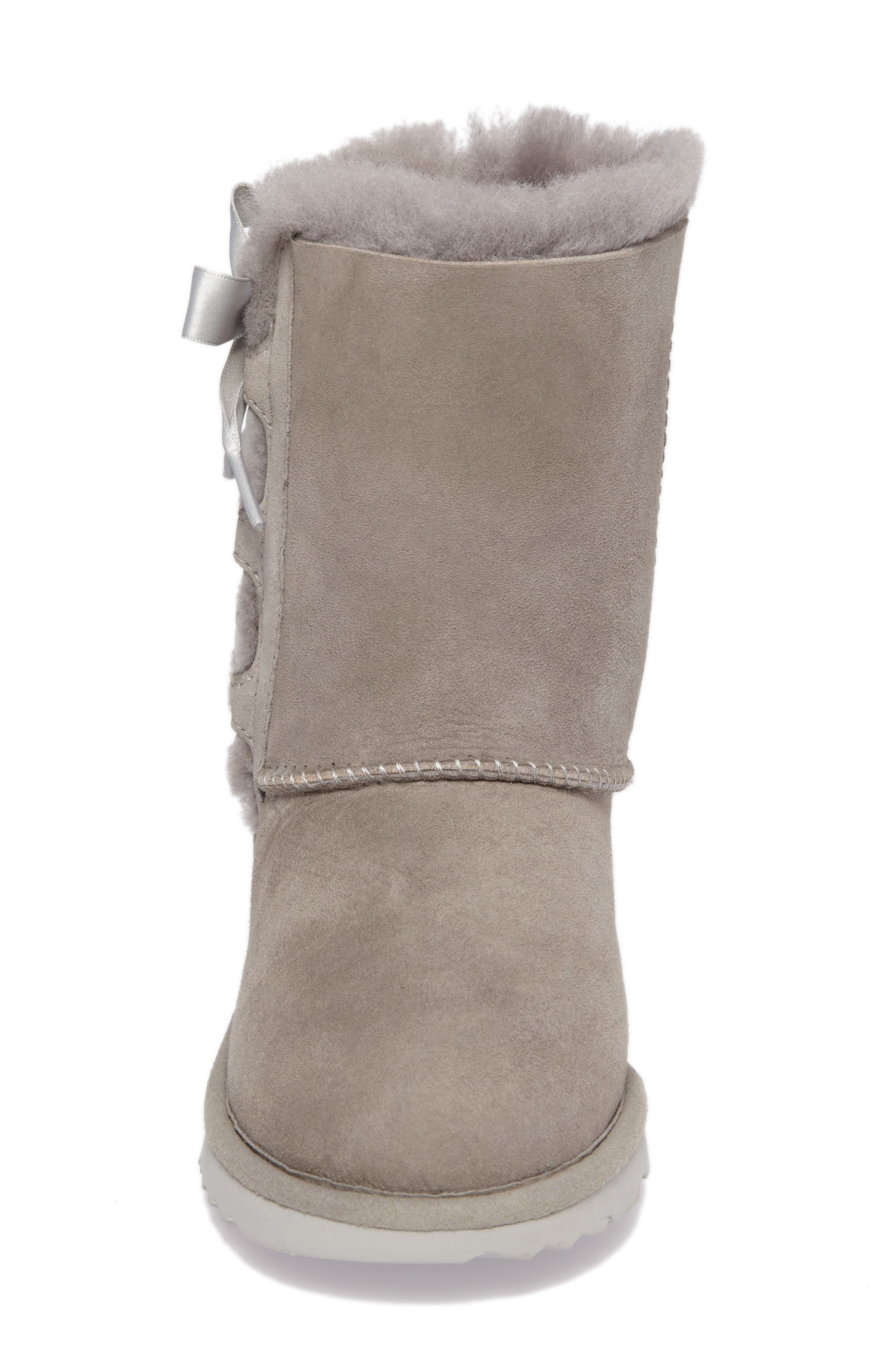Alternate Image 4  - UGG® Pala Water-Resistant Genuine Shearling Boot (Walker, Toddler, Little Kid & Big Kid)