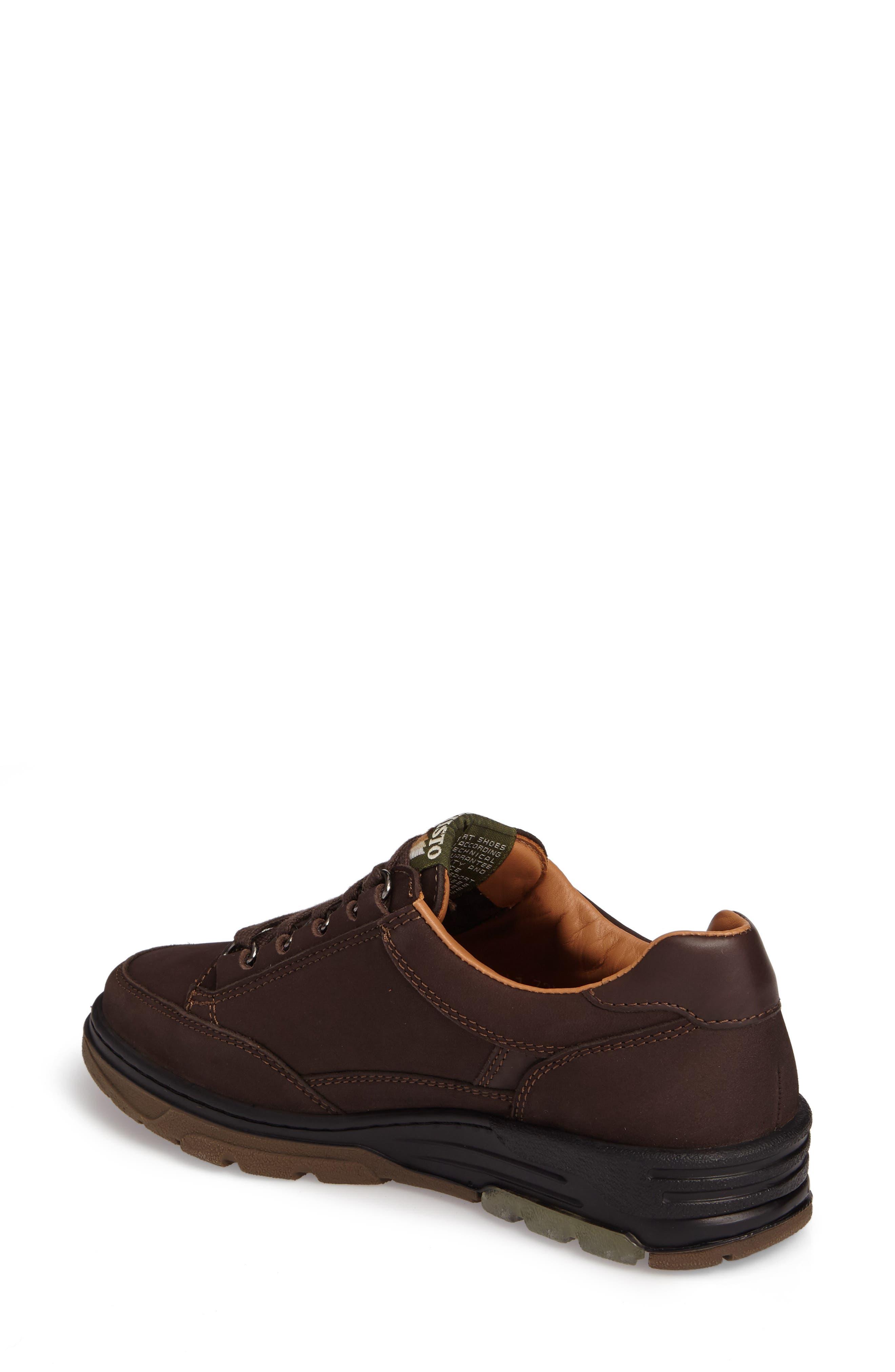 Natasha Sneaker,                             Alternate thumbnail 2, color,                             Dark Brown Leather