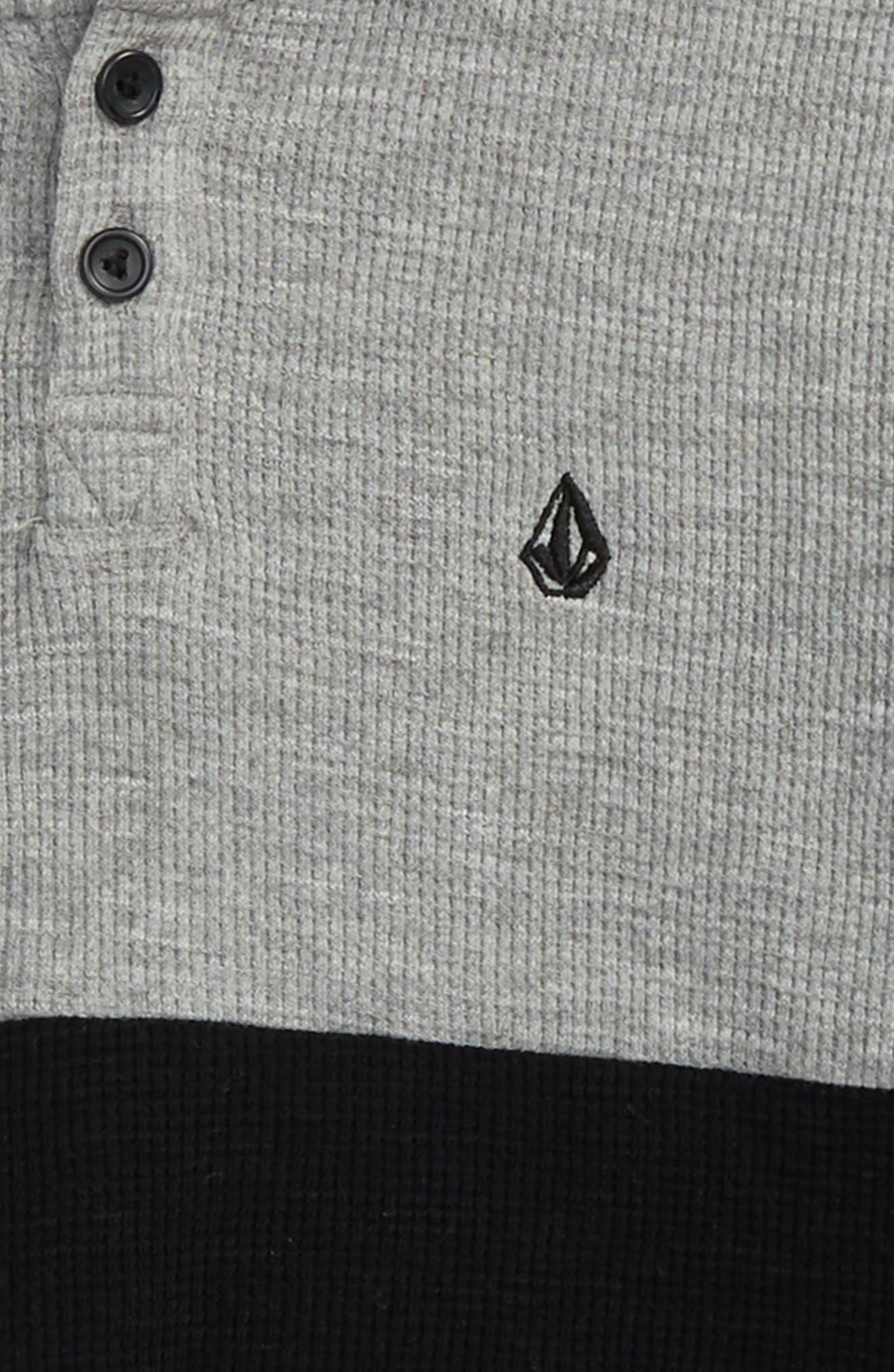 Alternate Image 2  - Volcom Murphy Thermal Hoodie (Toddler Boys & Little Boys)