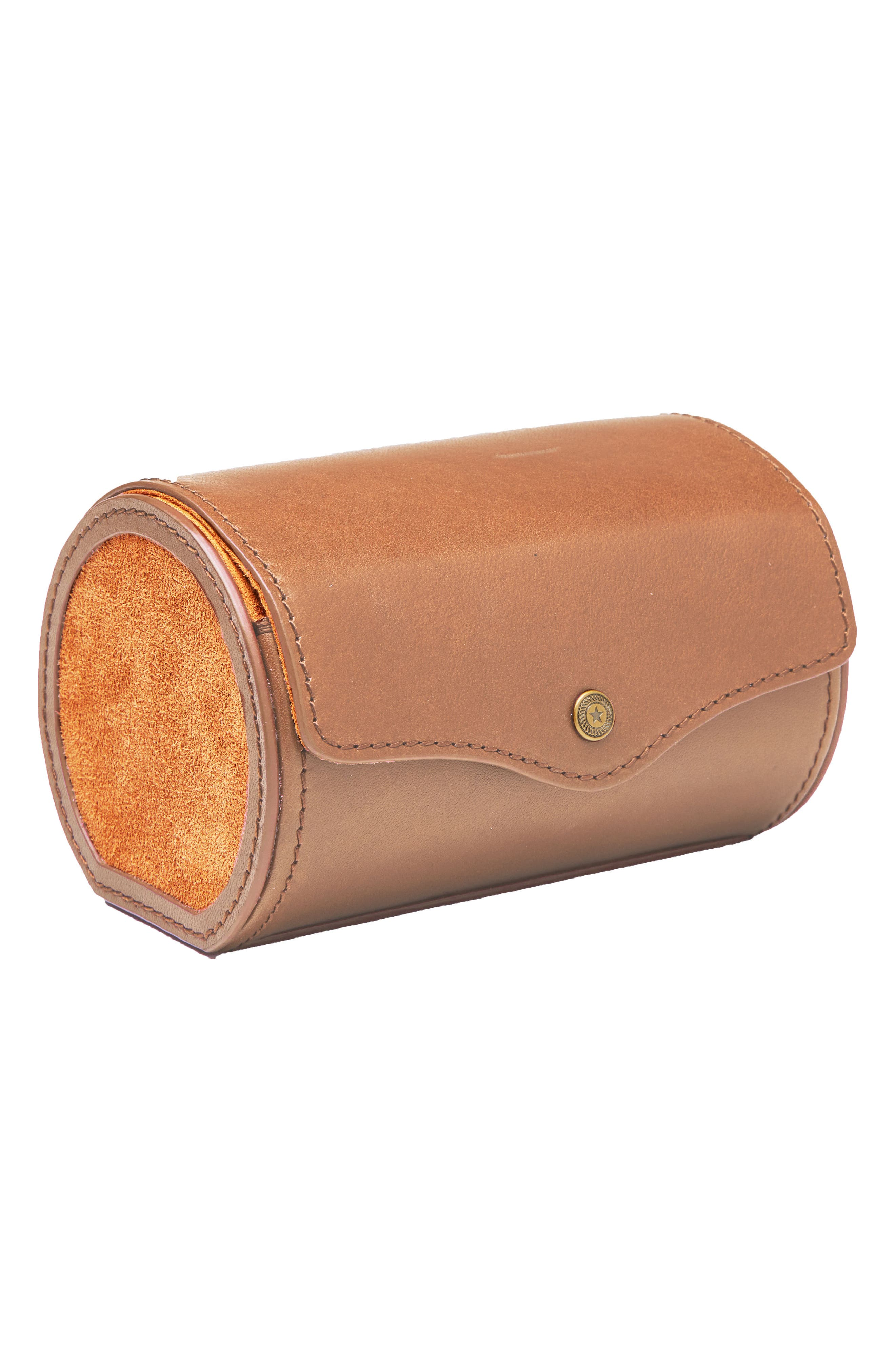 Watch Roll Case,                             Alternate thumbnail 3, color,                             Tan
