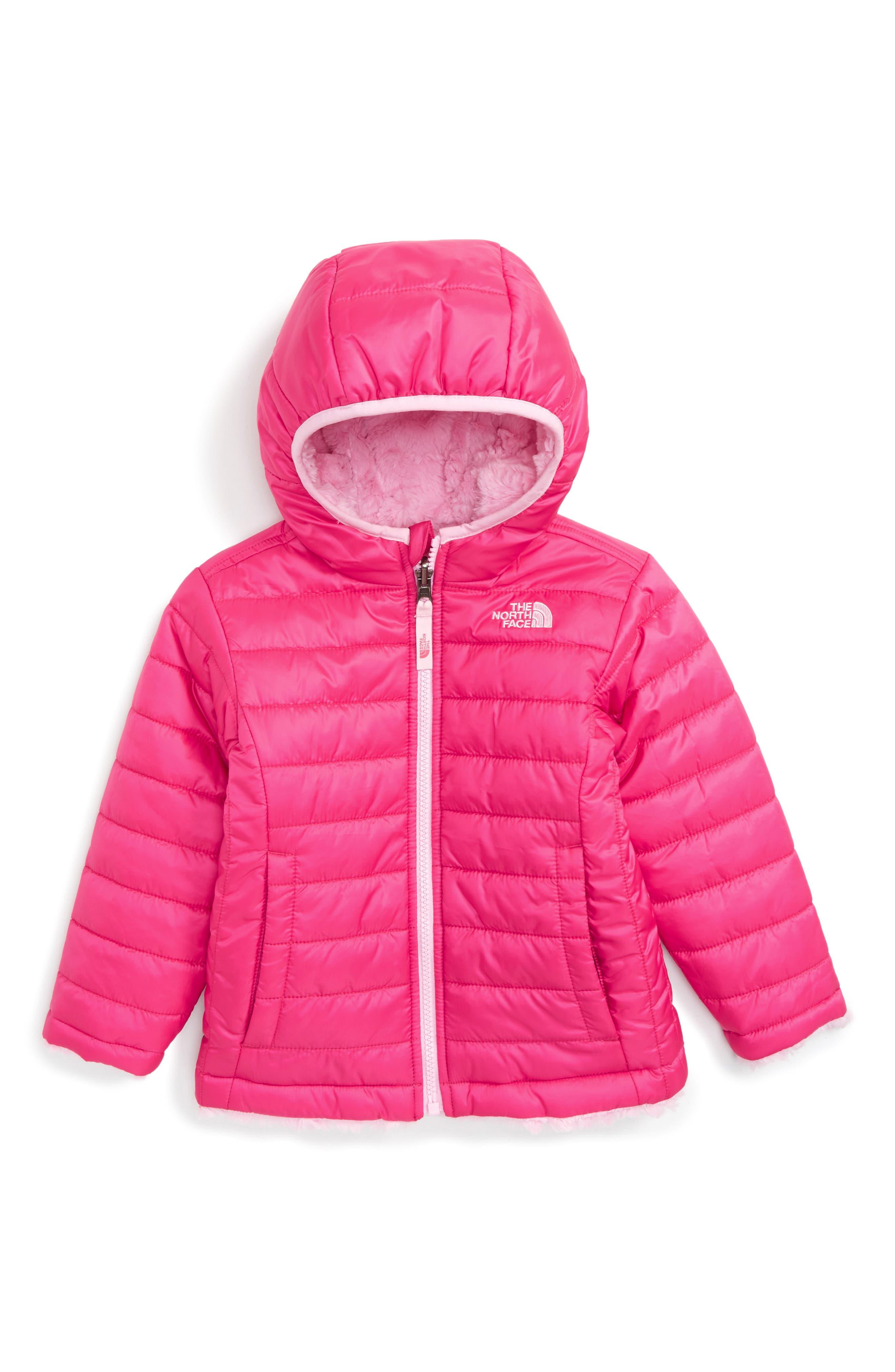 The North Face Mossbud Reversible Heatseeker™ Wind Resistant Jacket (Toddler Girls & Little Girls)