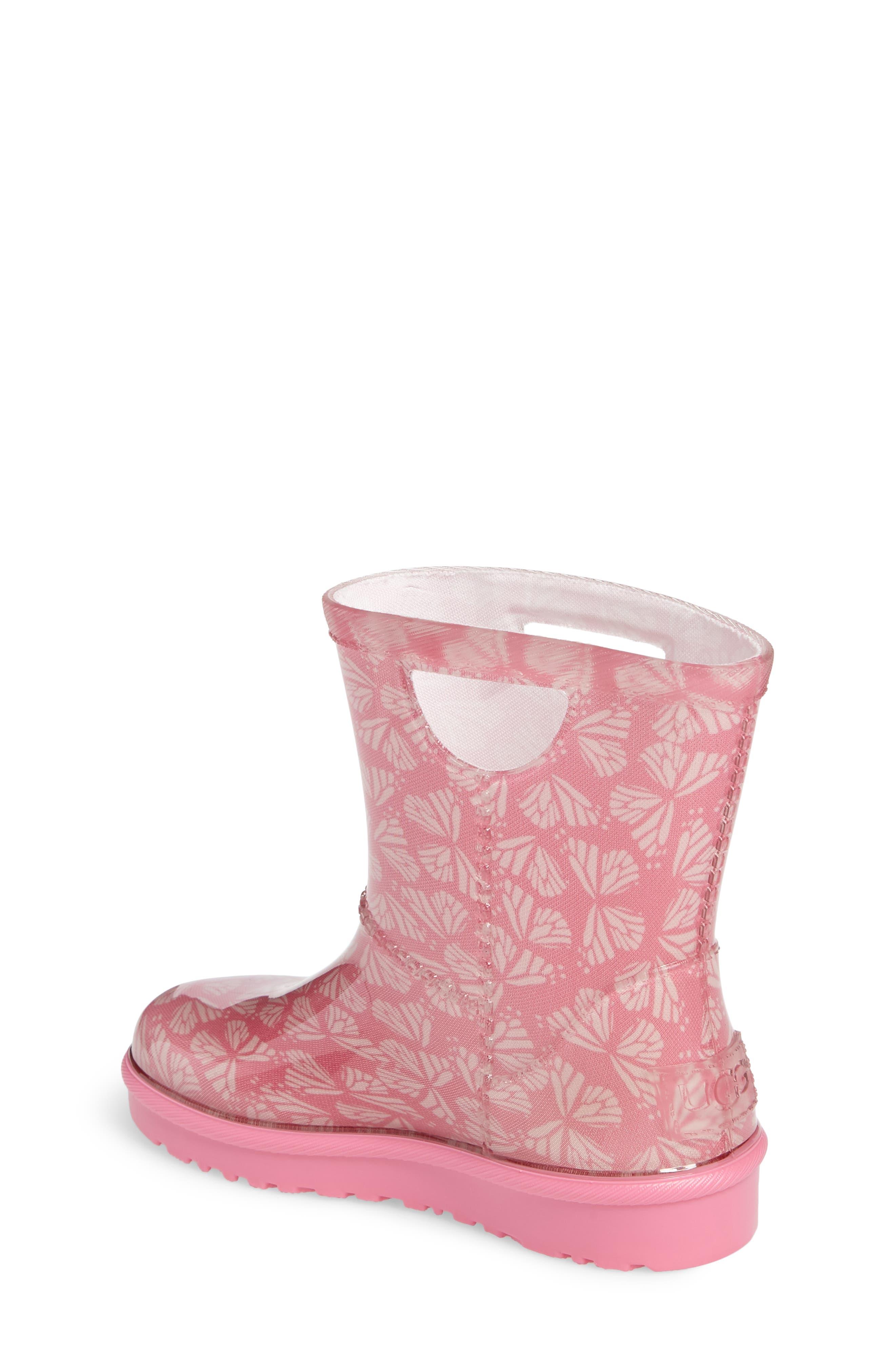Rahjee Rain Boot,                             Alternate thumbnail 2, color,                             Pink Azalea