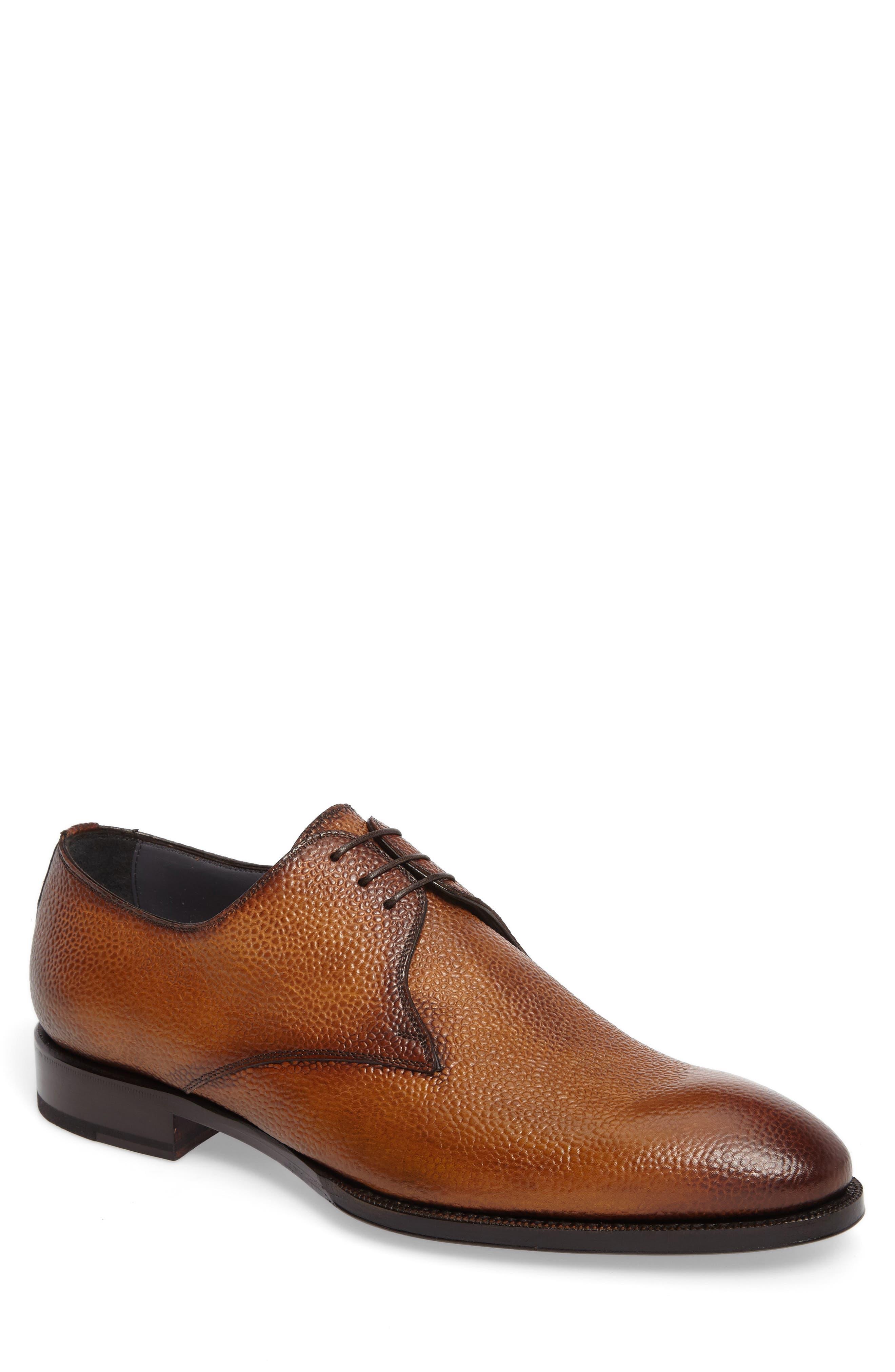 Alternate Image 1 Selected - Di Bianco Gallo Plain Toe Derby (Men)