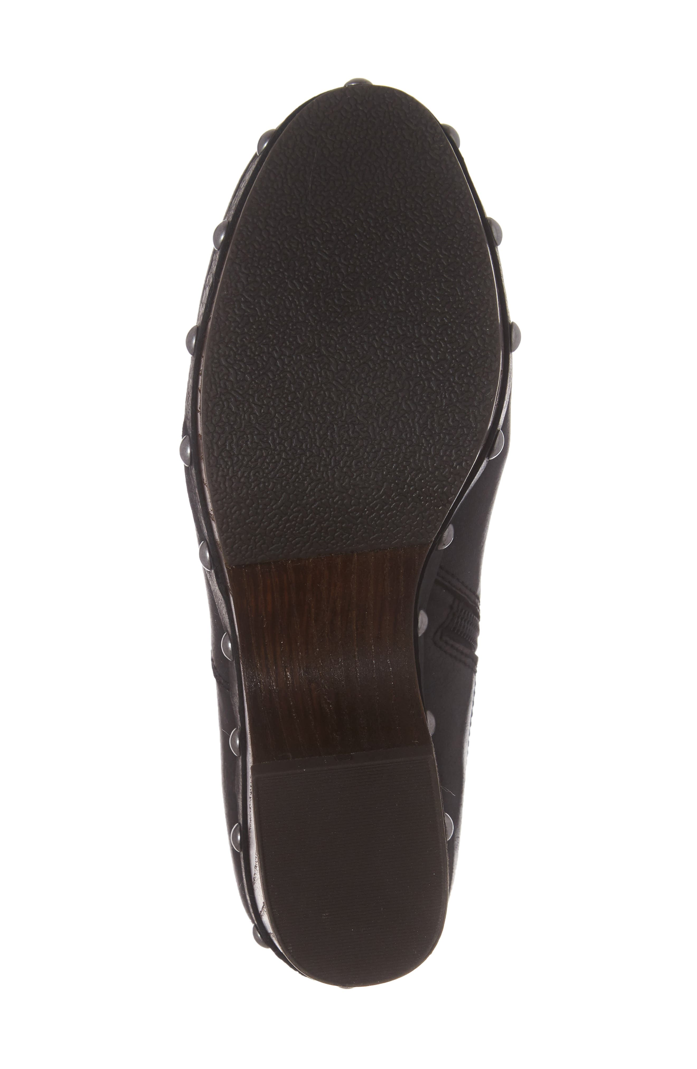 Yasamin Bootie,                             Alternate thumbnail 6, color,                             Black Leather