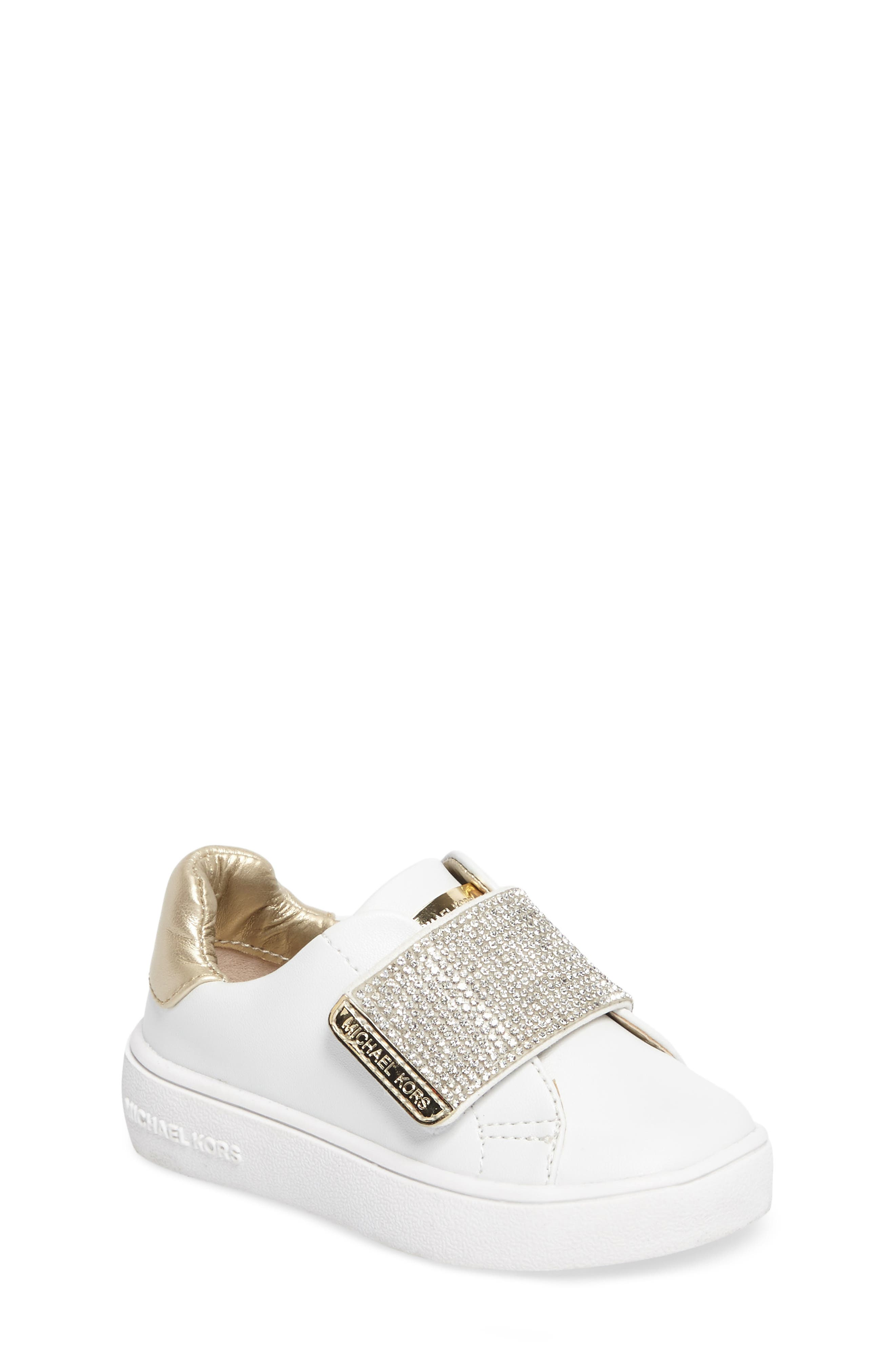 Alternate Image 1 Selected - MICHAEL Michael Kors Ivy Candy Sneaker (Walker, Toddler, Little Kid & Big Kid)