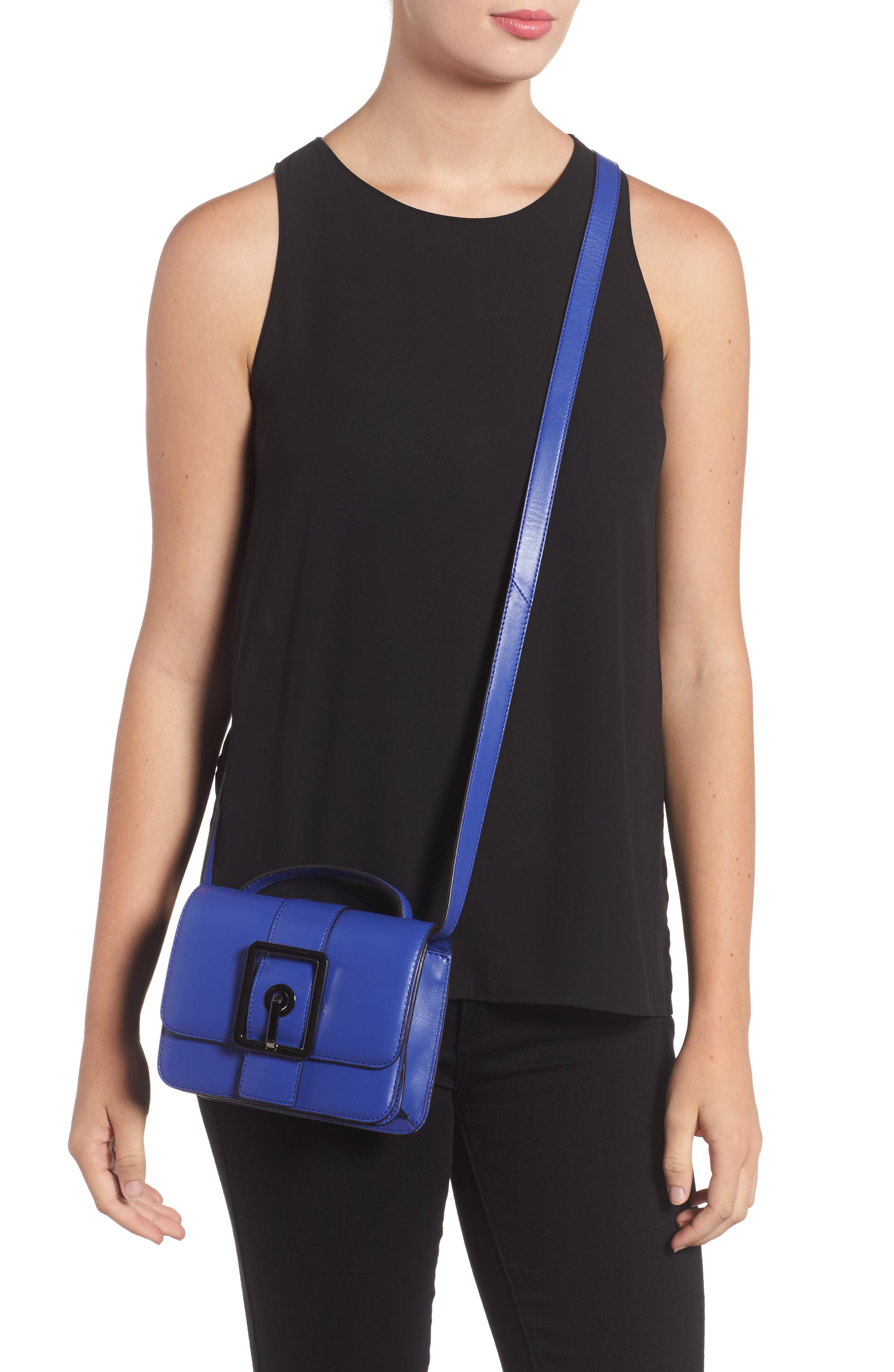 Alternate Image 2  - Rebecca Minkoff Small Hook Up Leather Top Handle Satchel