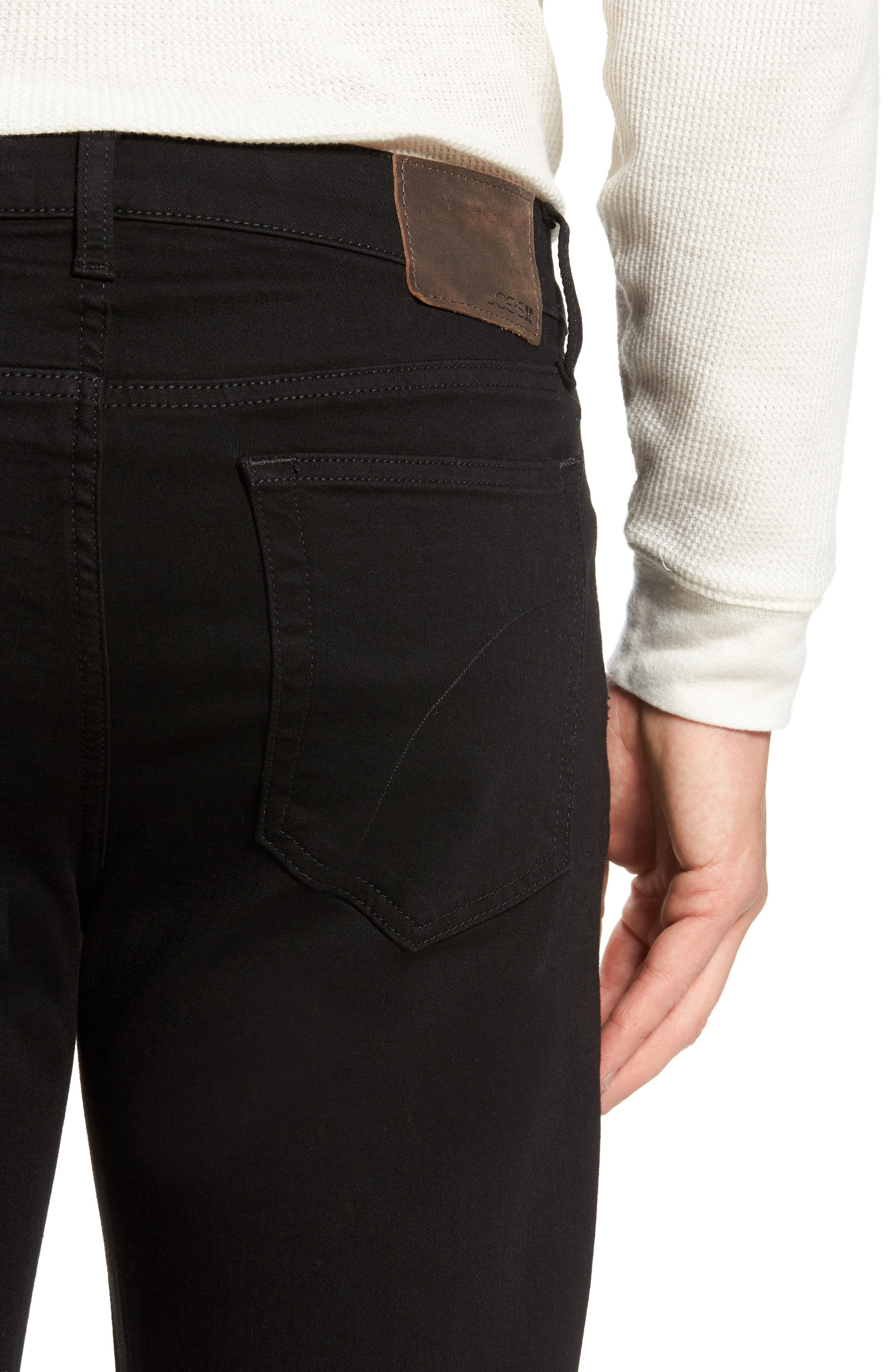 Classic Straight Fit Jeans,                             Alternate thumbnail 4, color,                             Griffith