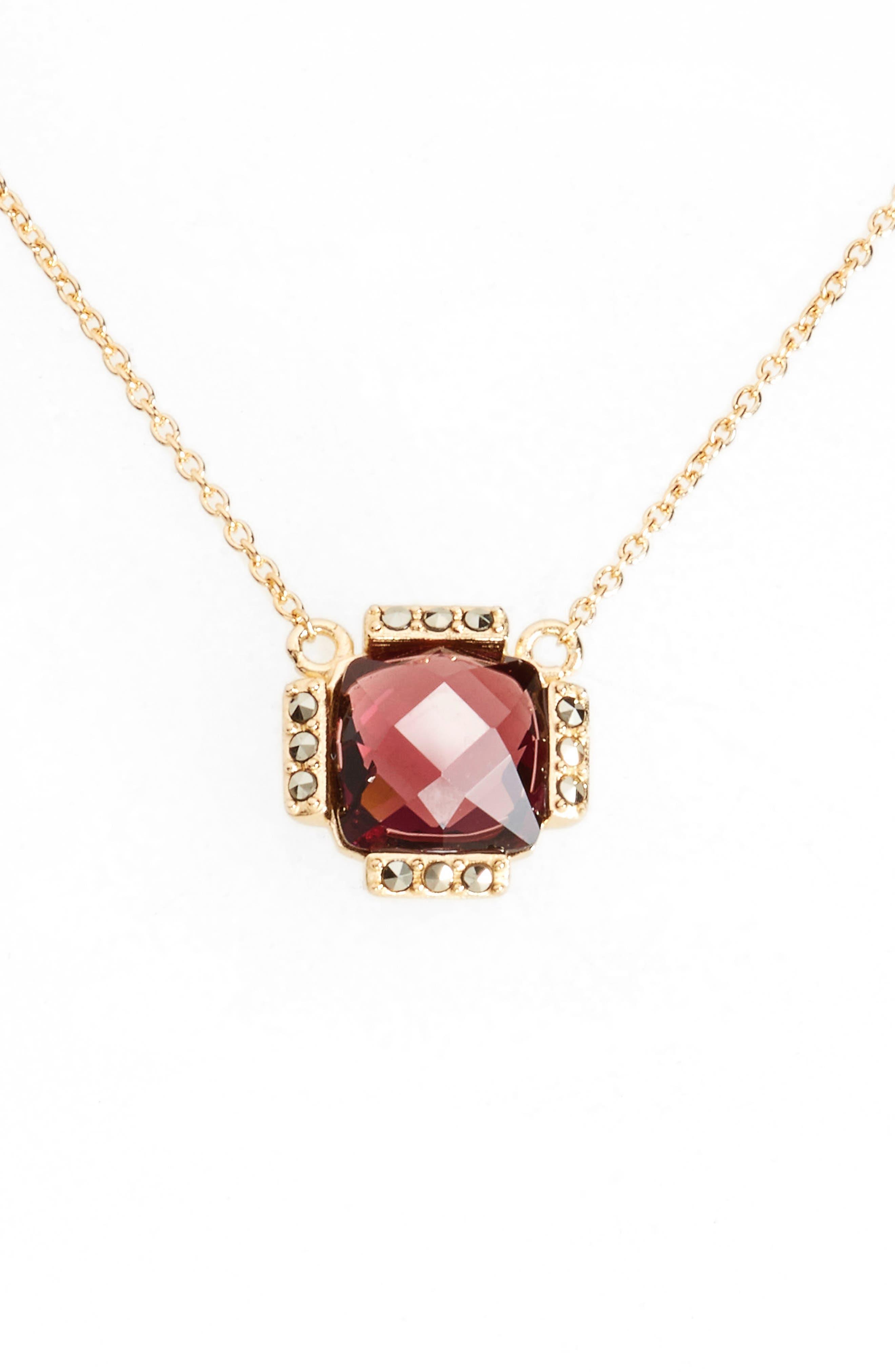 Judith Jack Doublet Pendant Necklace
