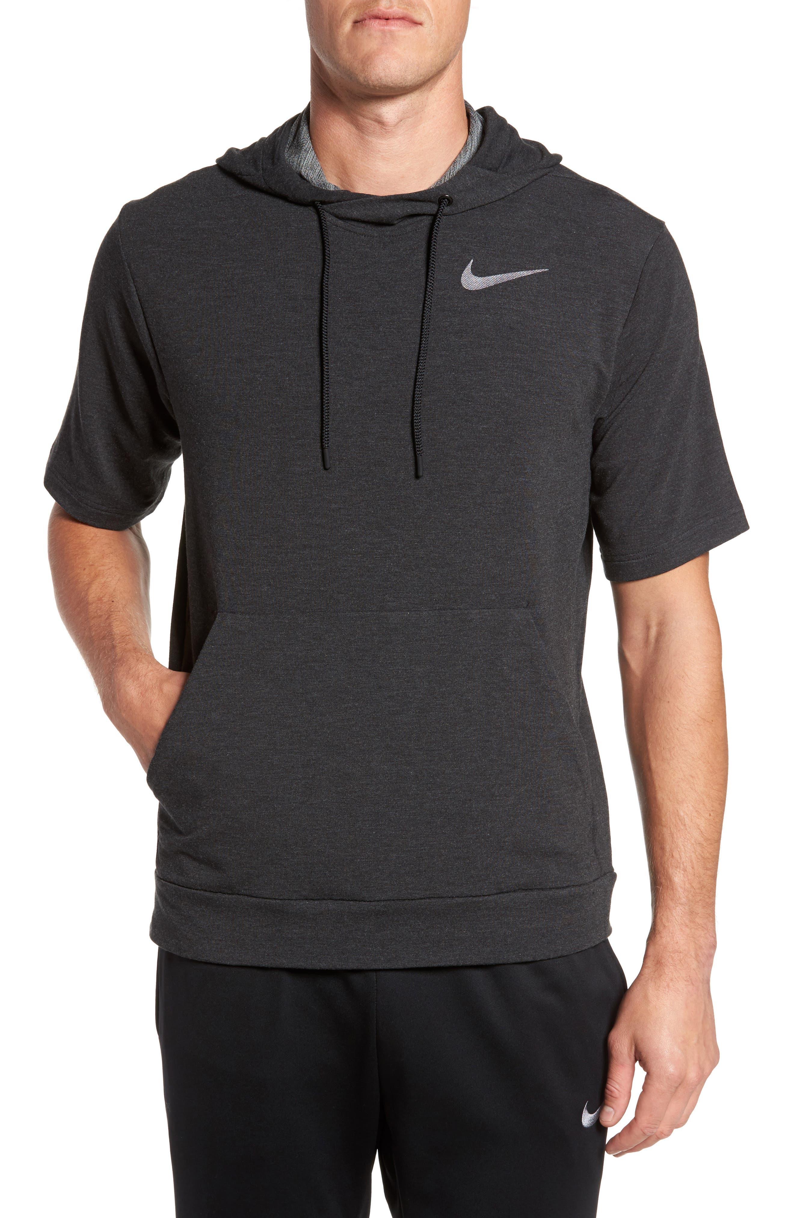 Nike Short Sleeve Training Hoodie