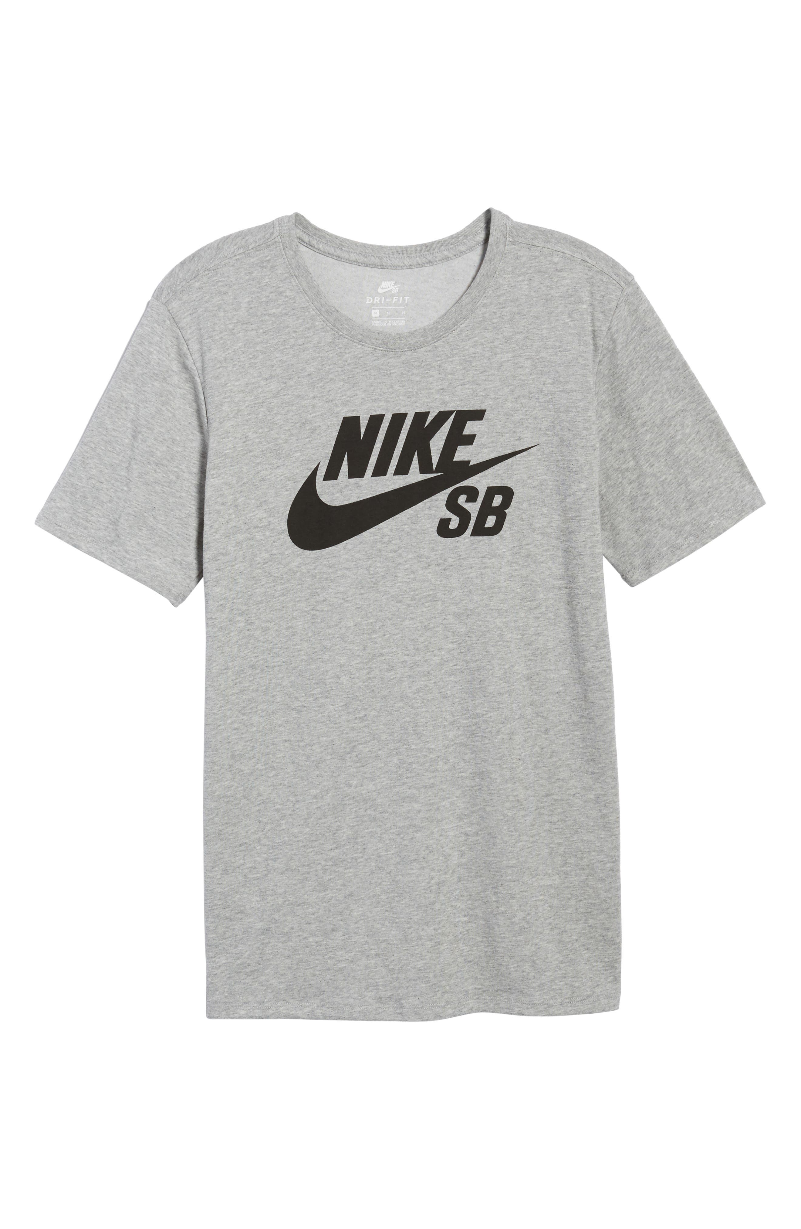 Alternate Image 6  - Nike 'SB Logo' T-Shirt