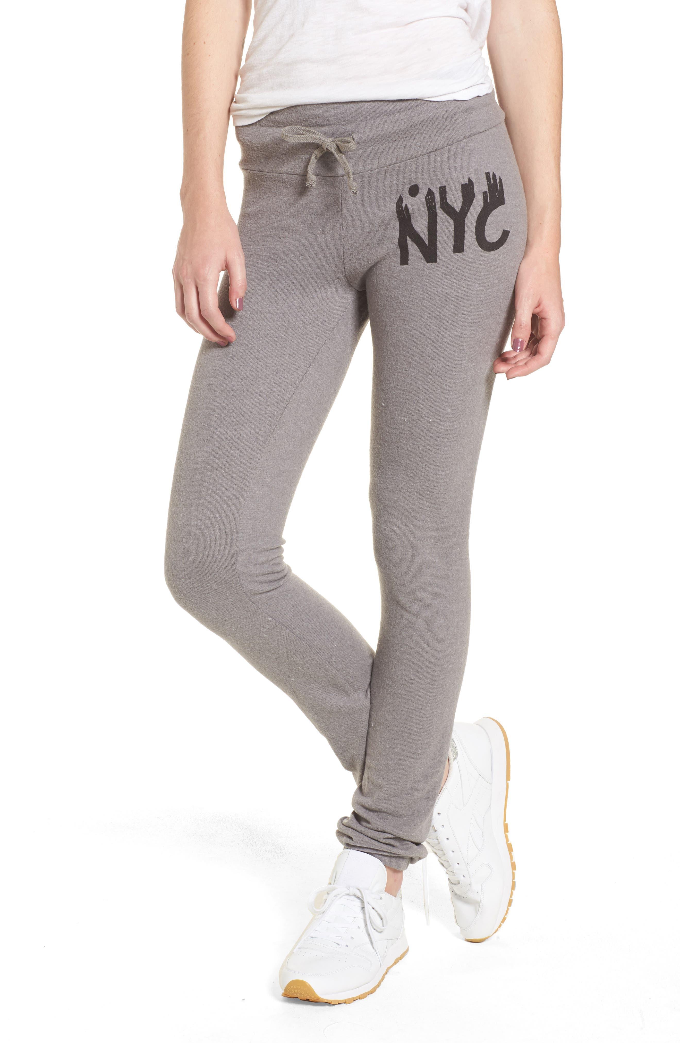 NYC Sweatpants,                             Main thumbnail 1, color,                             Vintage Grey