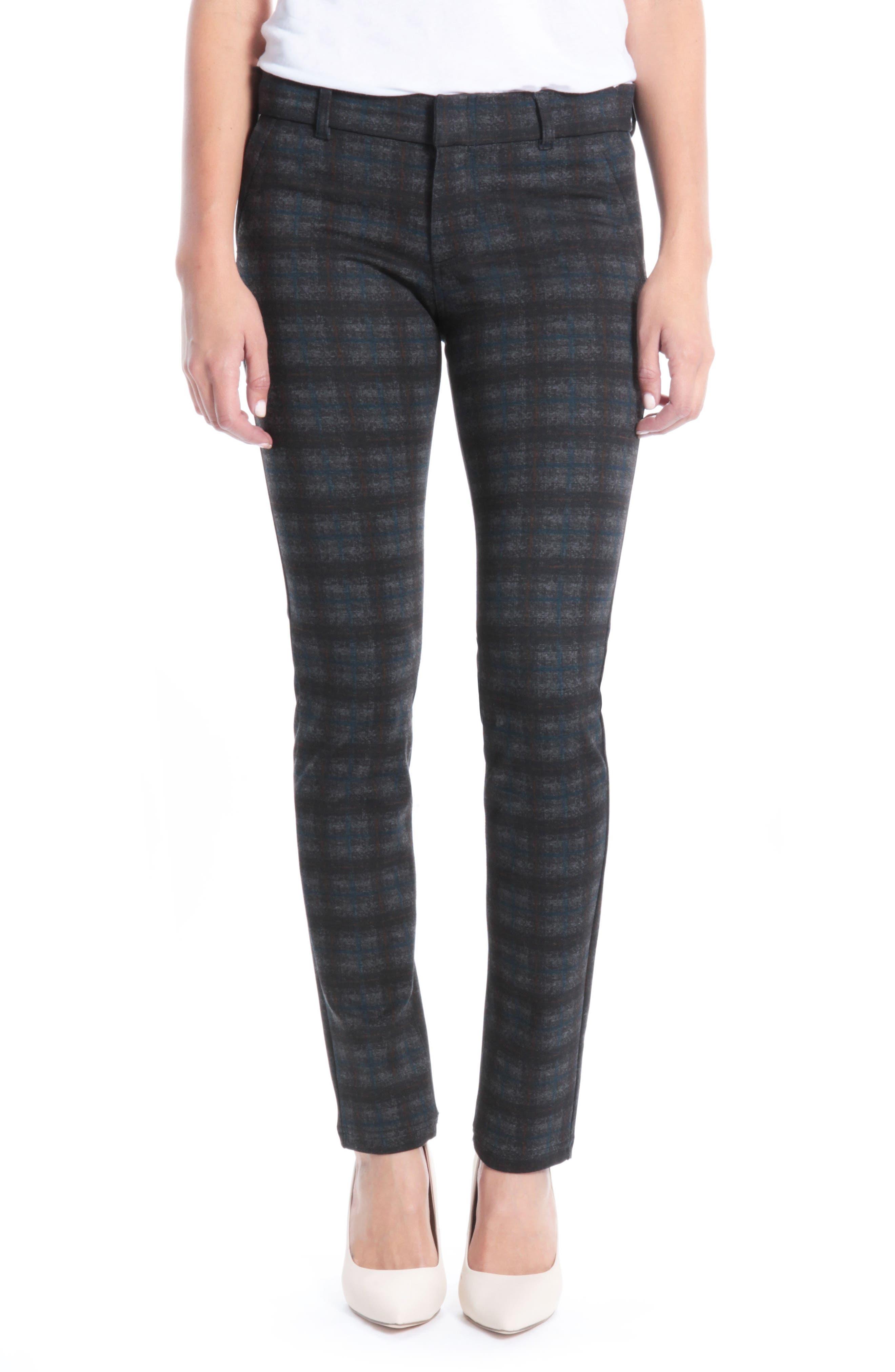 Diana Skinny Jeans,                             Main thumbnail 1, color,                             Grey/ Blue/ Gold