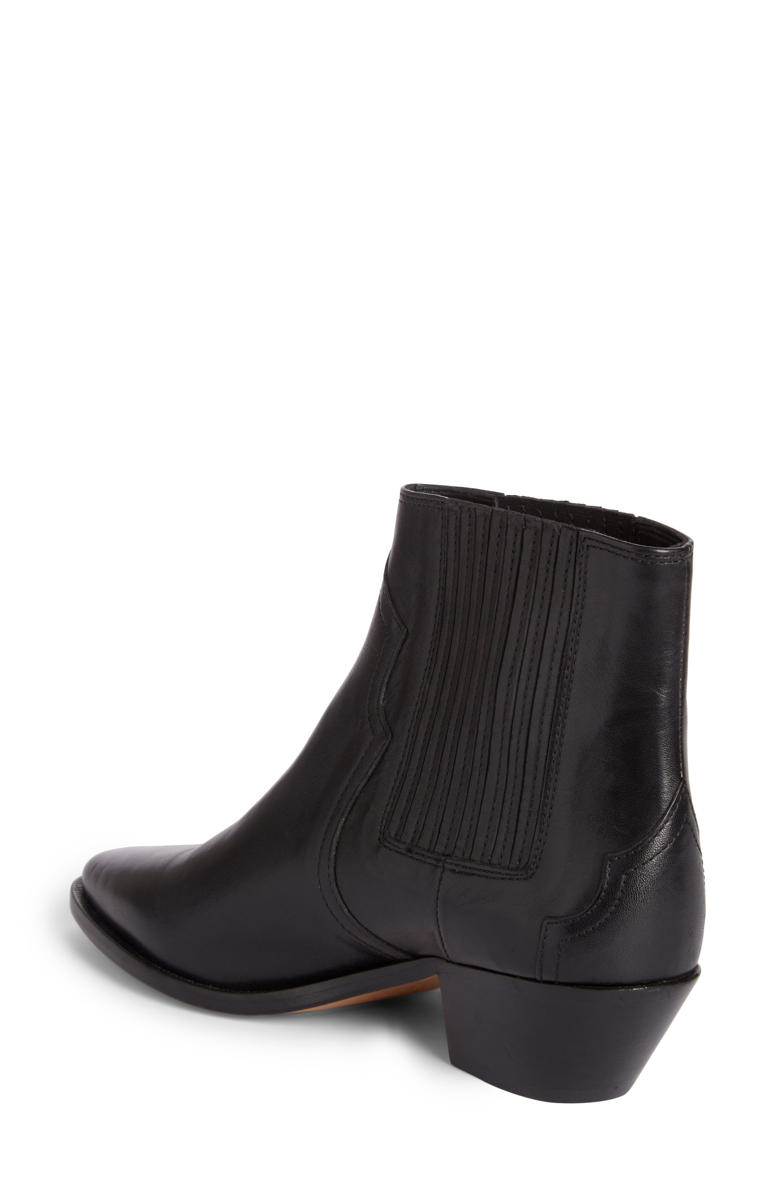 Derlyn Boot,                             Alternate thumbnail 2, color,                             Black