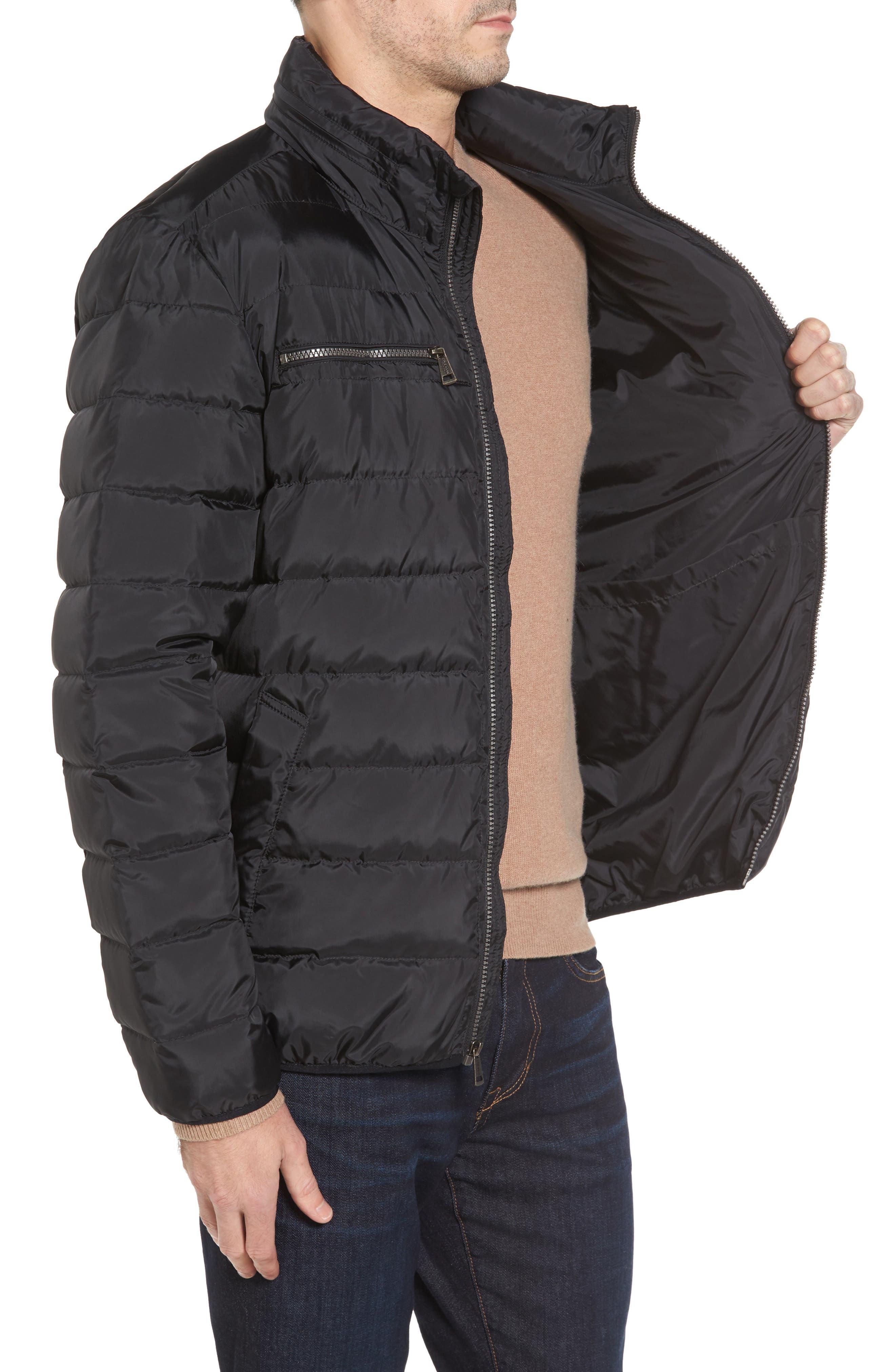 Packable Down Jacket,                             Alternate thumbnail 3, color,                             Black