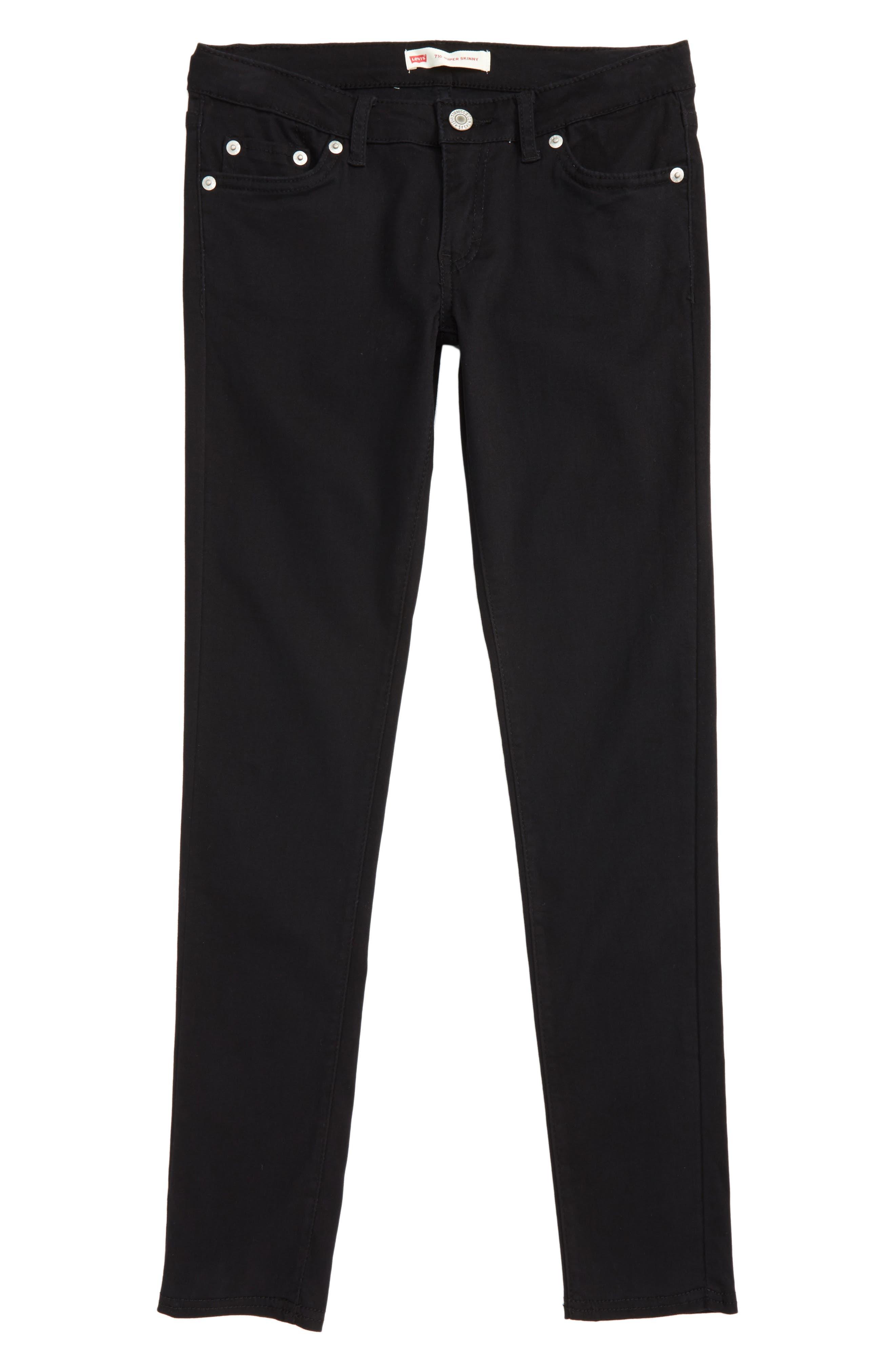 Main Image - Levi's® 710™ Super Skinny Stretch Jeans (Big Girls)