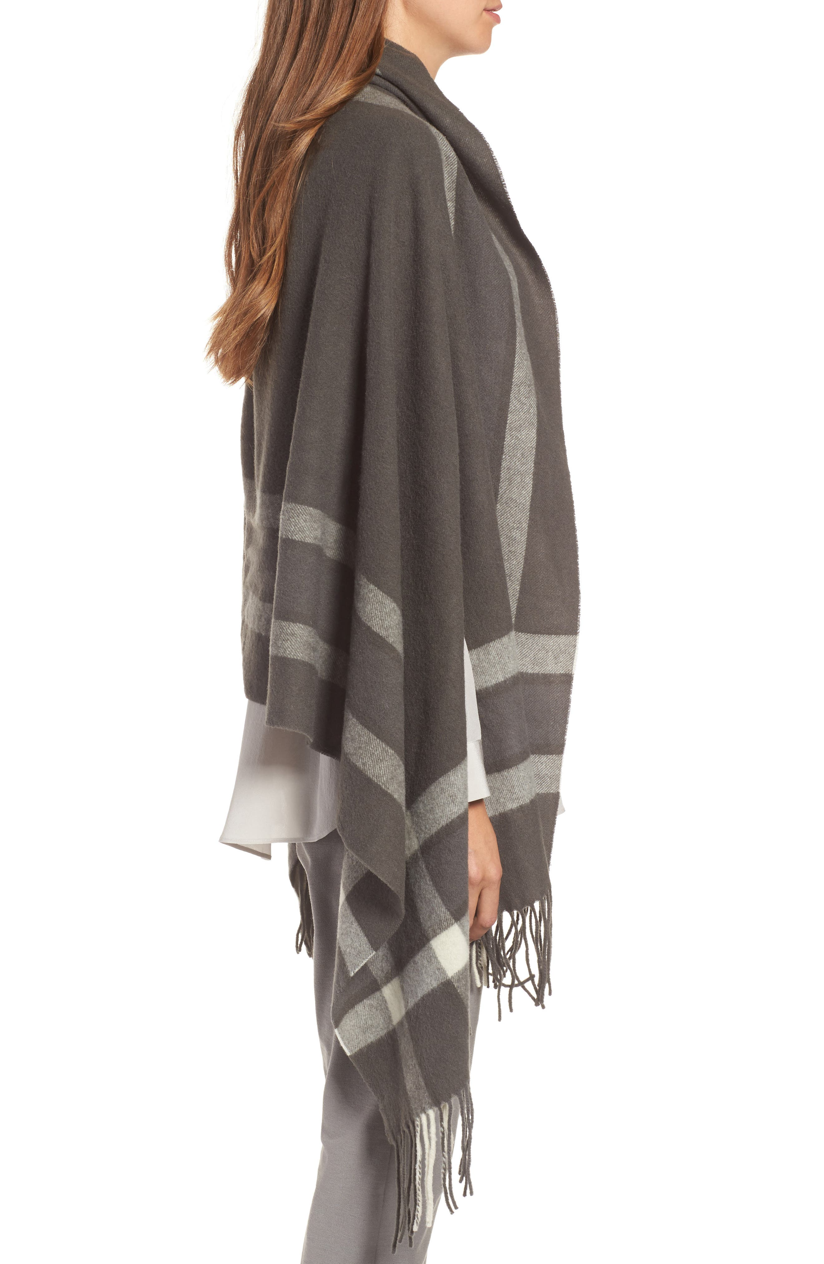 Alternate Image 3  - Eileen Fisher Wool Wrap