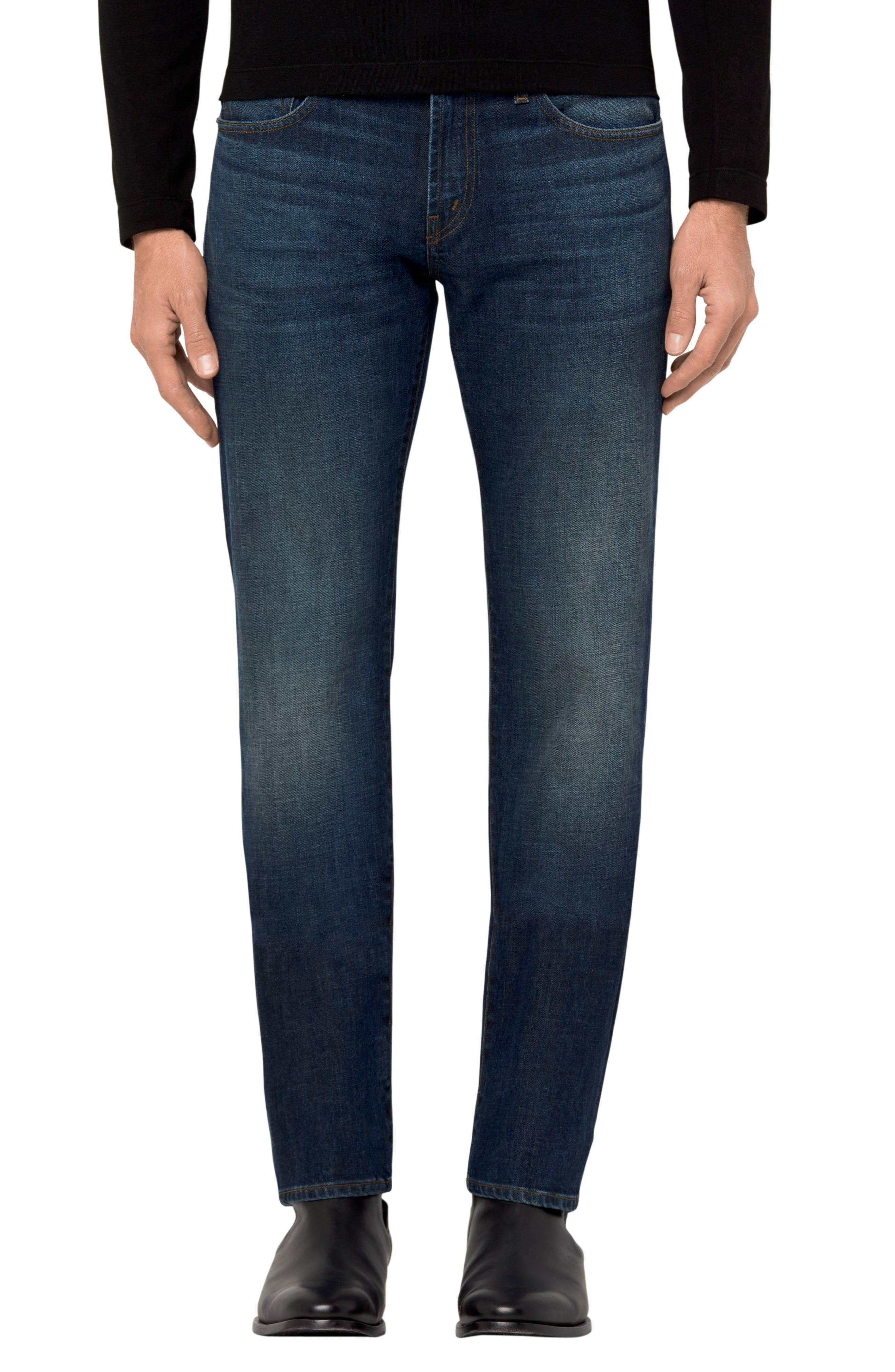J Brand Tyler Slim Fit Jeans (Cuttlefish)
